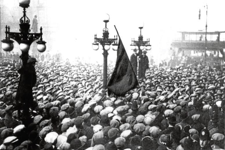60,000 protestors in George Square