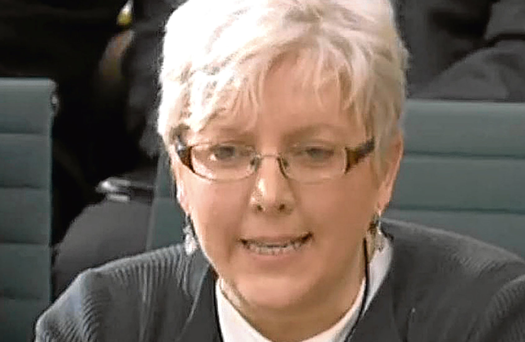 Journalist Carrie Gracie gives evidence to the Digital, Culture, Media and Sport Committee (PA Wire)