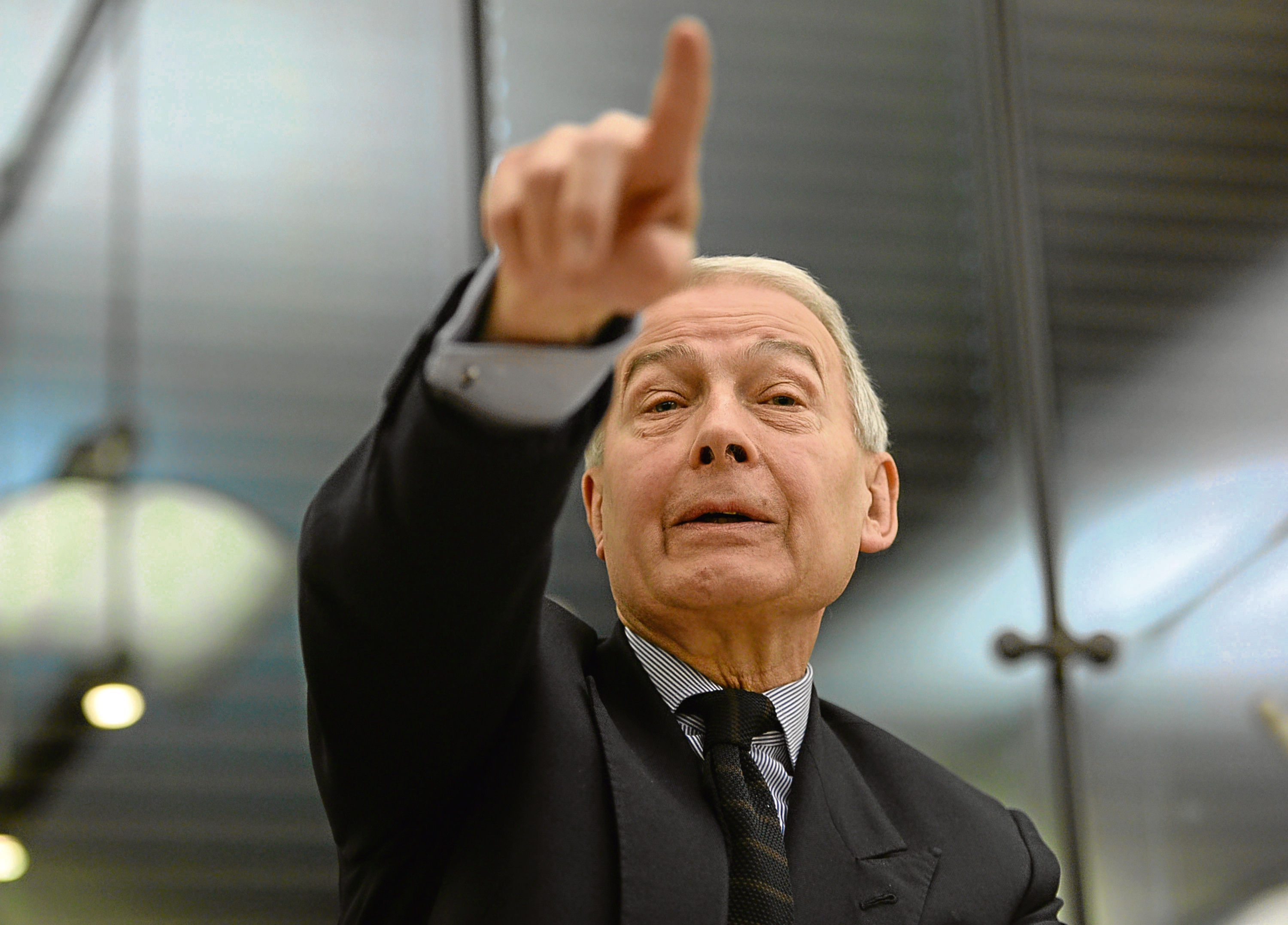 Frank Field, above, and Ian Blackford deserve our respect, says Donald (Anthony Devlin / PA Archive)