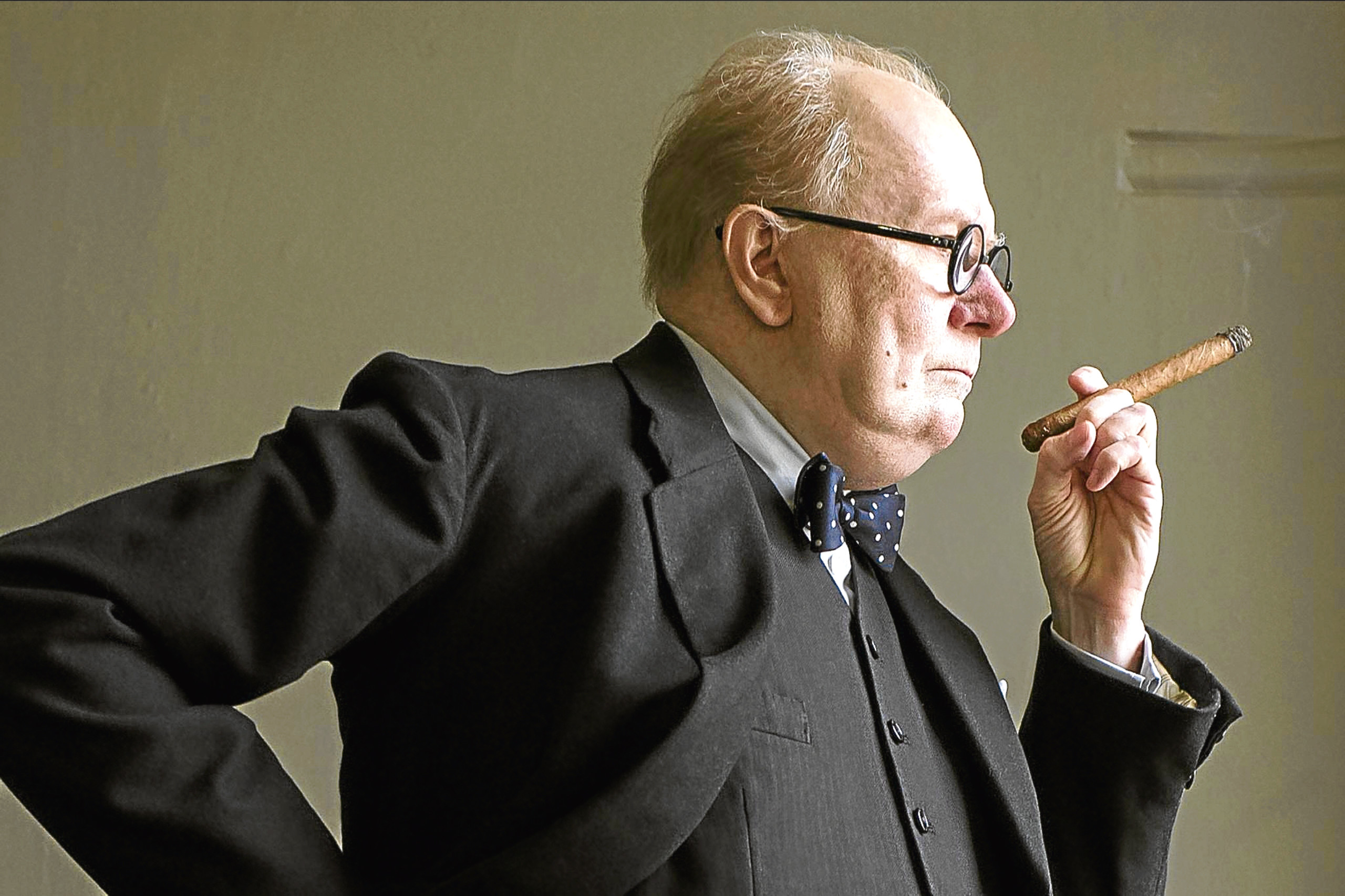 GARY OLDMAN  Character(s): Winston Churchill  Film 'DARKEST HOUR (Allstar/WORKING TITLE FILMS)