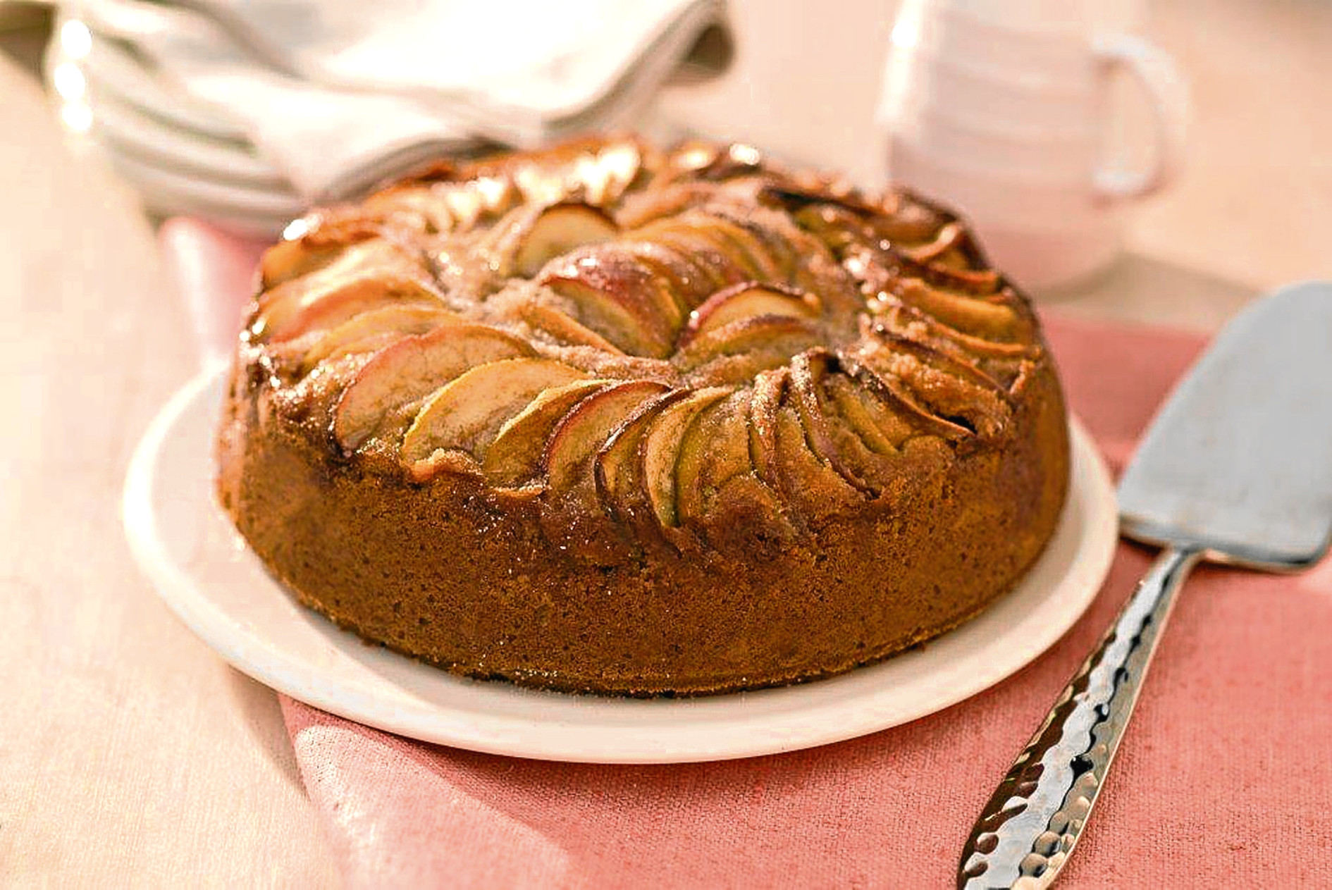Apple and Yogurt Cake