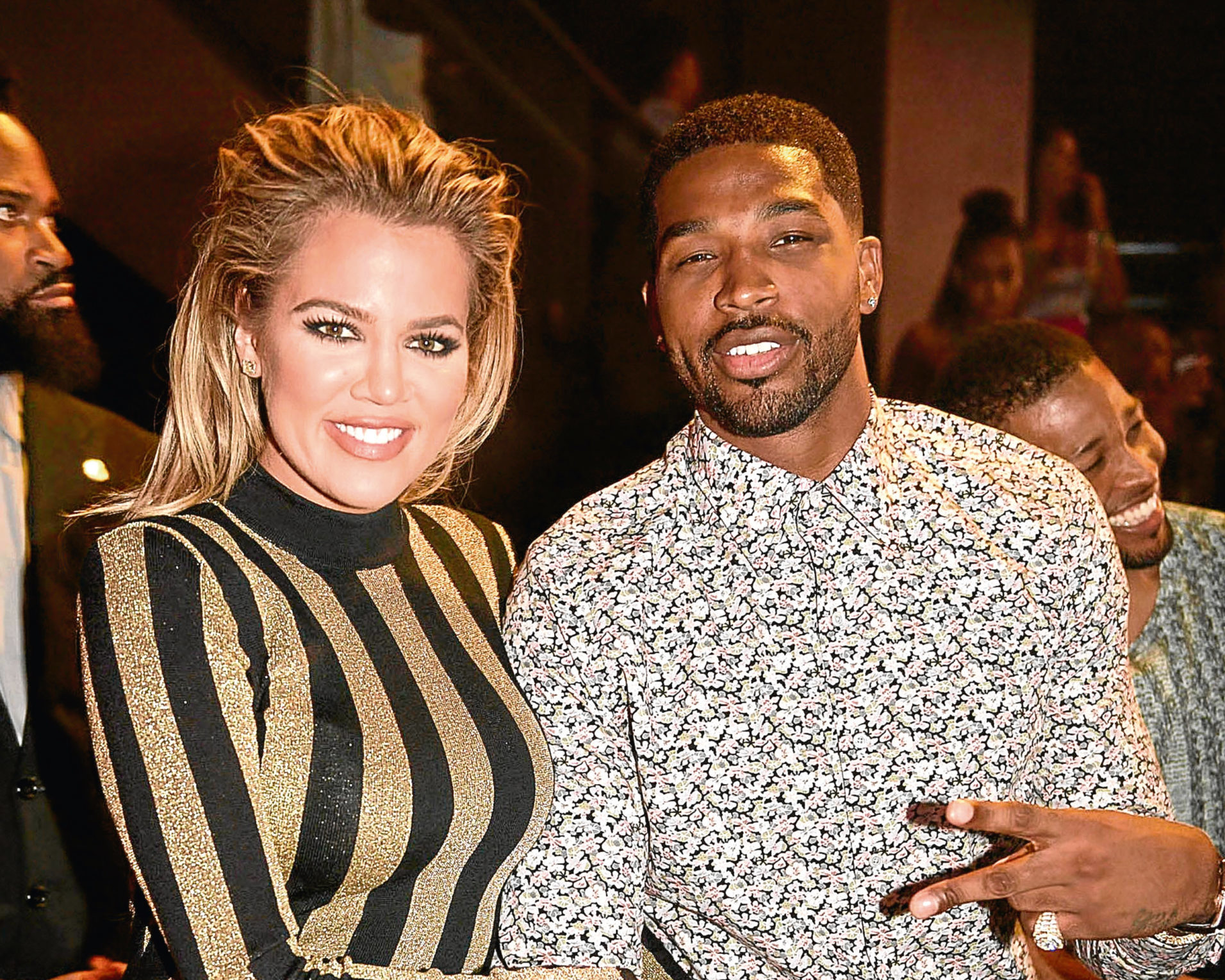 Khloe Kardashian And Tristan Thompson (Seth Browarnik/startraksphoto.com)