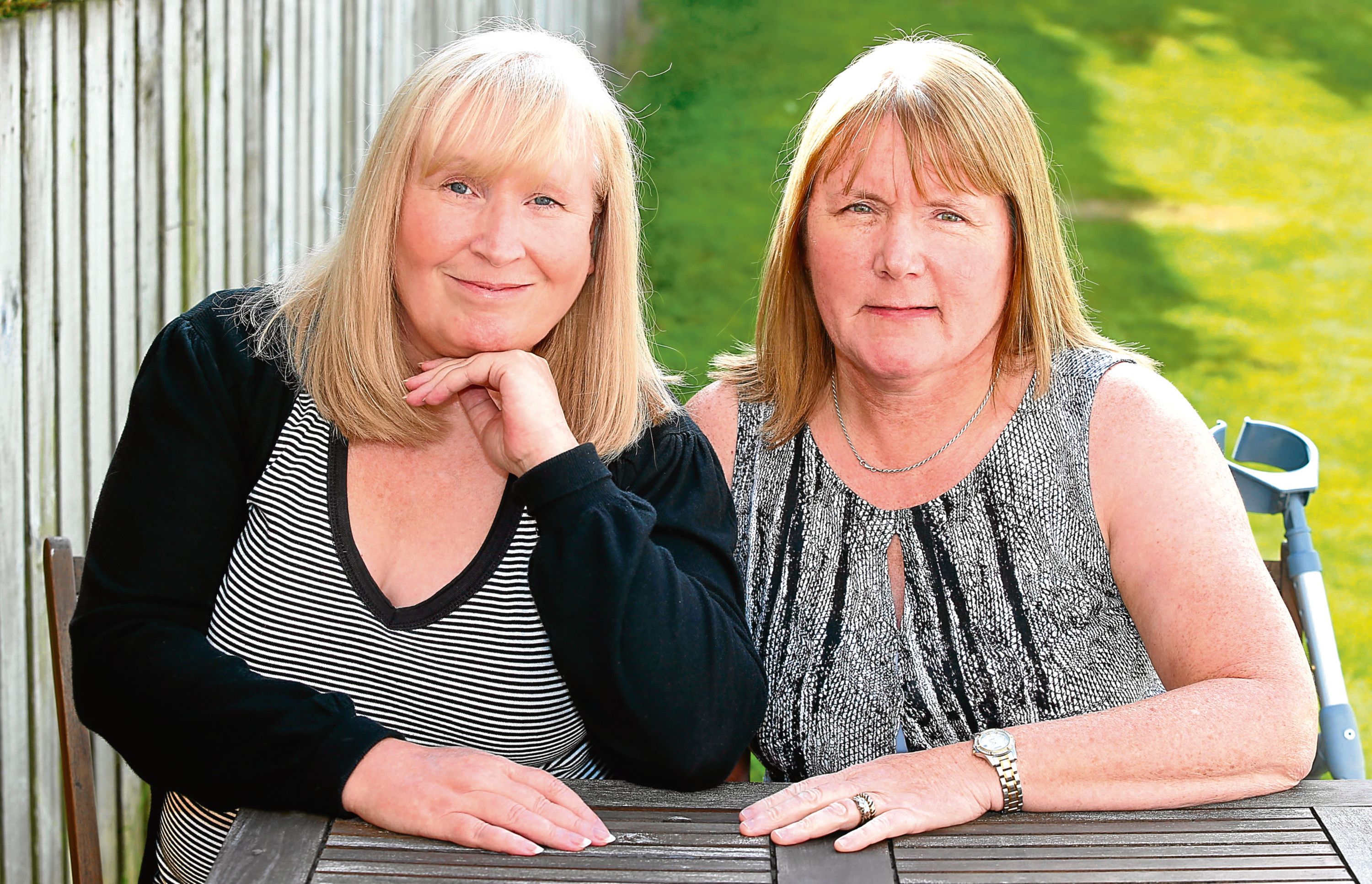 Mesh Victims Elaine Holmes and Olive McIlroy (Daily Record/Trinity Mirror)