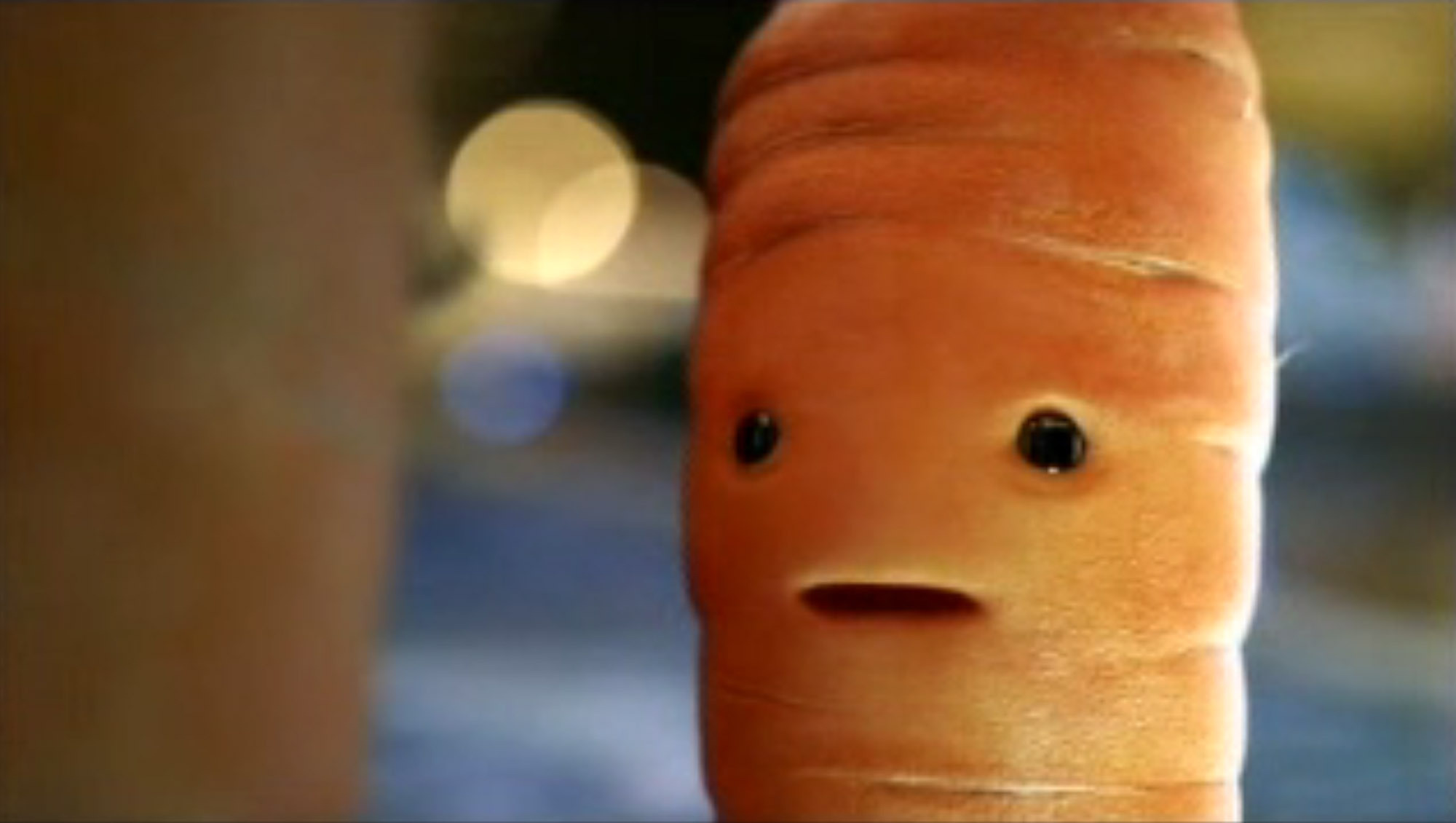 "The television ad, one in the supermarket's 12-part festive campaign, showed a computer-generated image of a carrot which began with it saying ""I see dead parsnips."" (ASA/PA Wire)"