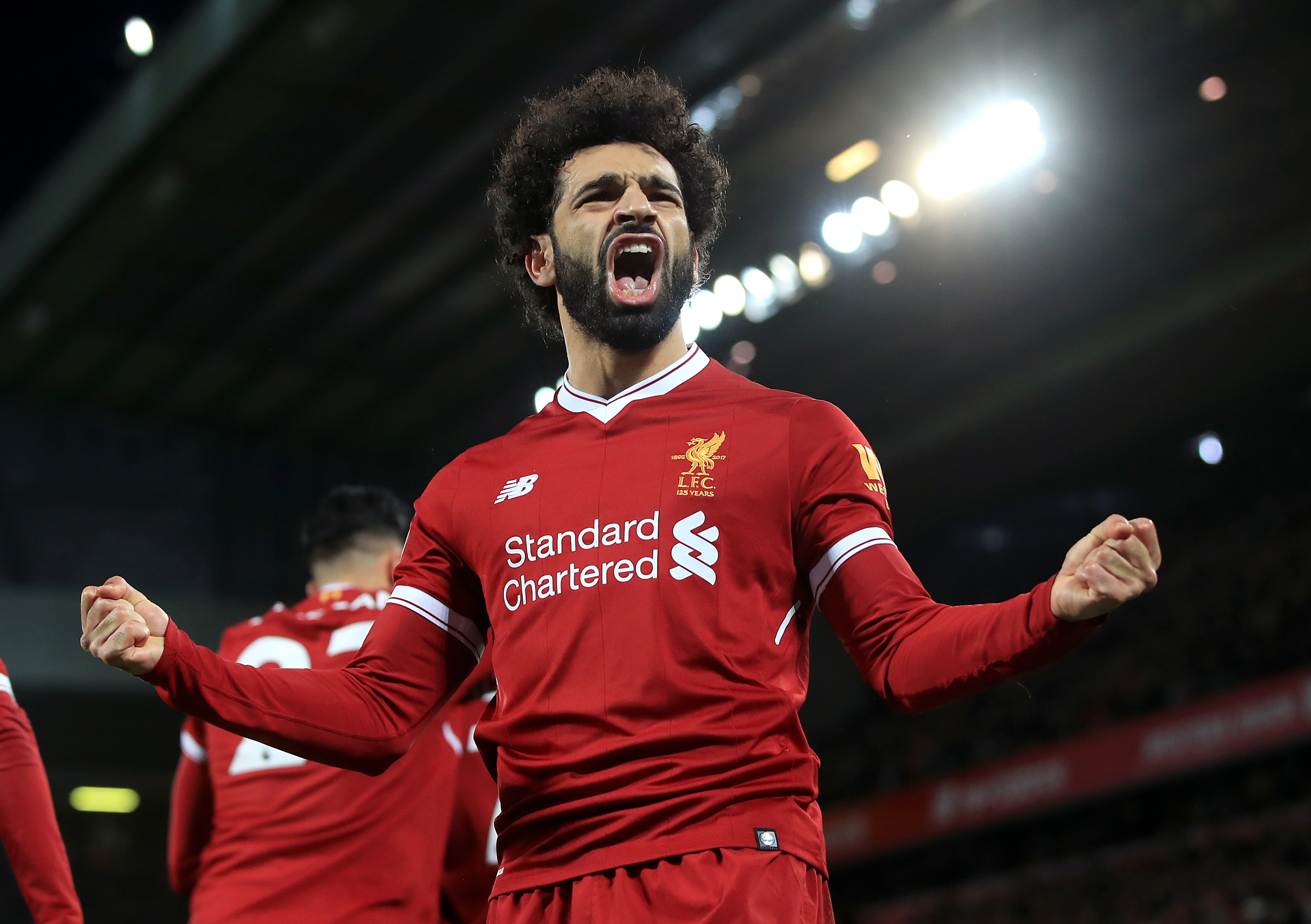 Liverpool's Mohamed Salah (PA Wire)