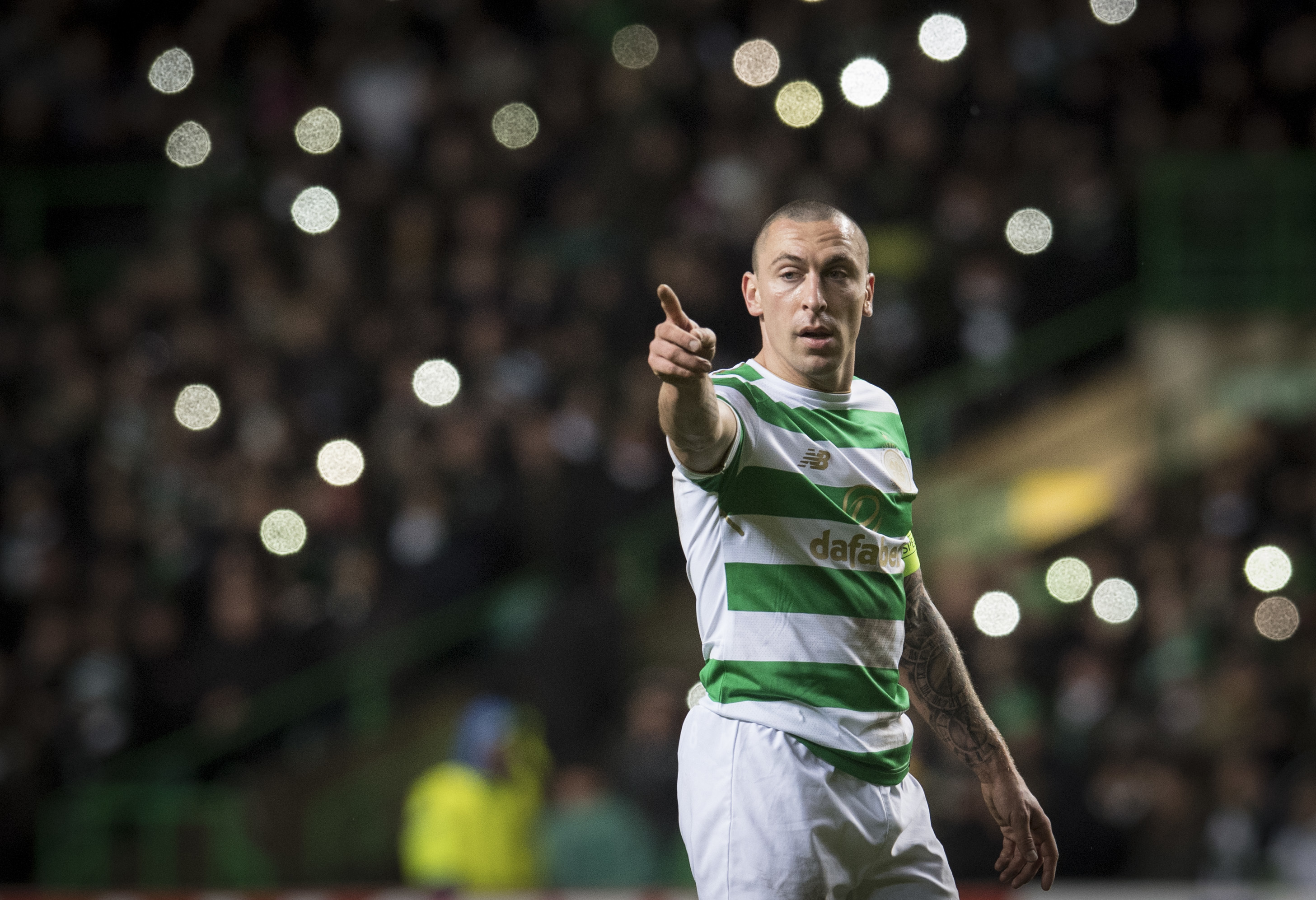 Scott Brown in action for Celtic (SNS)