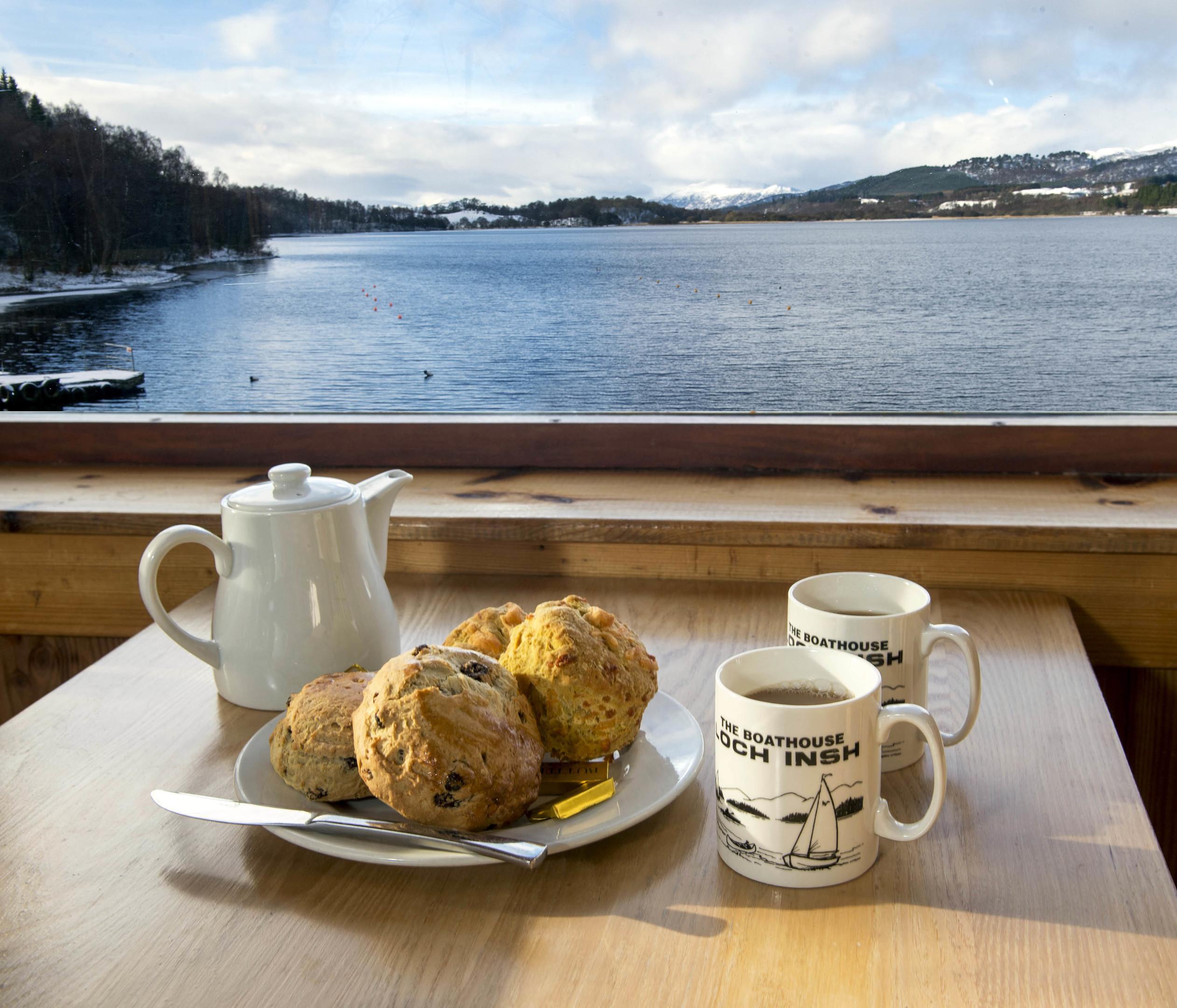 The Boathouse Restaurant, Loch Insh (Trevor Martin)