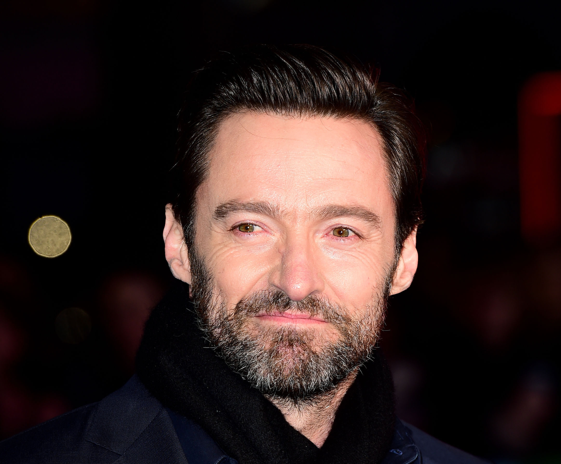 Hugh Jackman described the Inverness pupils as 'awesome and unique' (Ian West/PA)