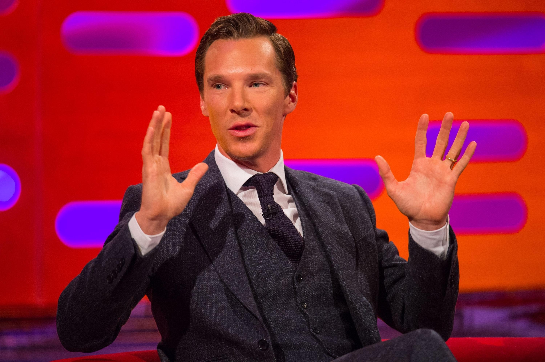 Host Benedict Cumberbatch dances at Laureus Awards (Dominic Lipinski/PA)