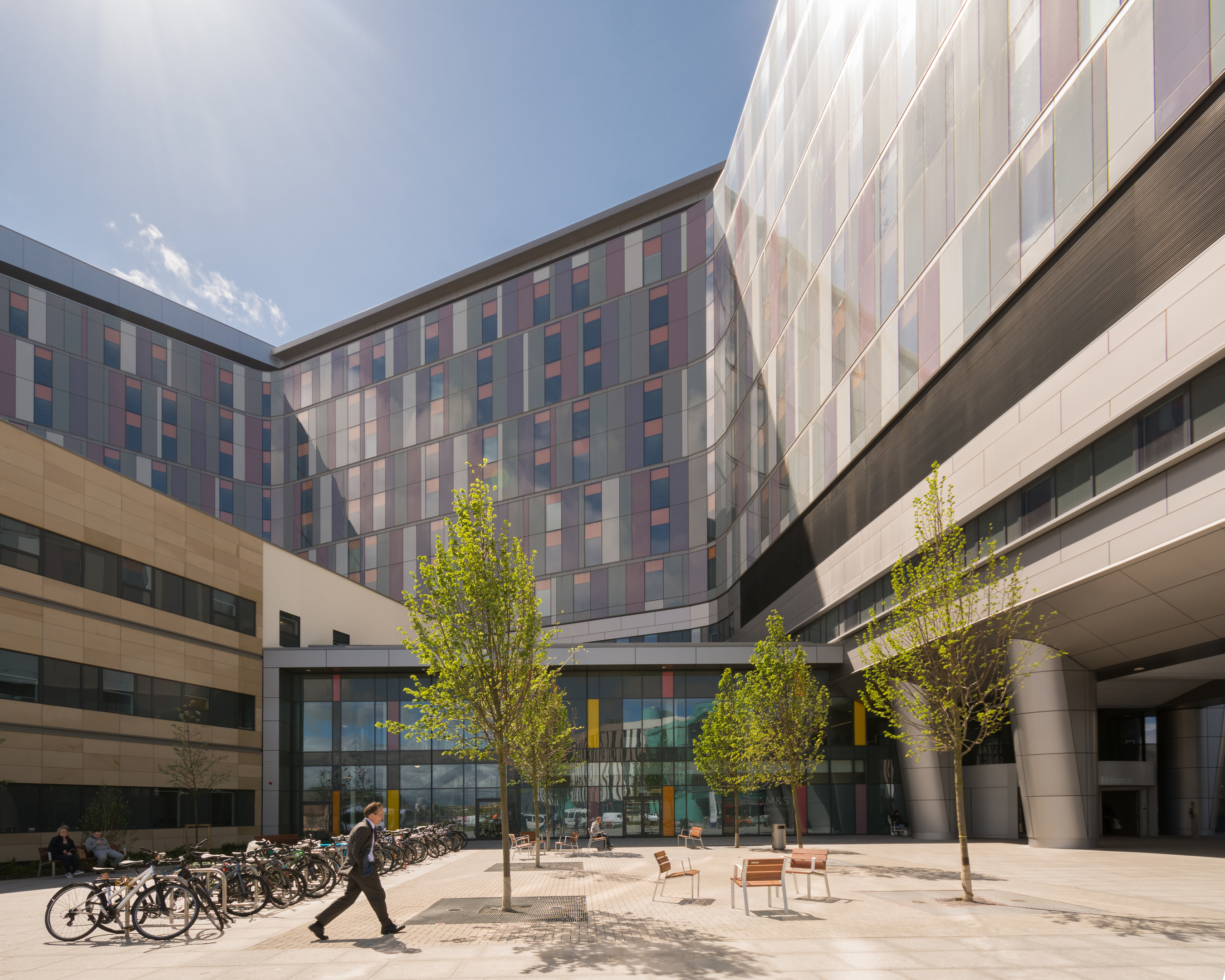 The new NHS Queen Elizabeth University Hospital in Glasgow (Getty Images/iStock)
