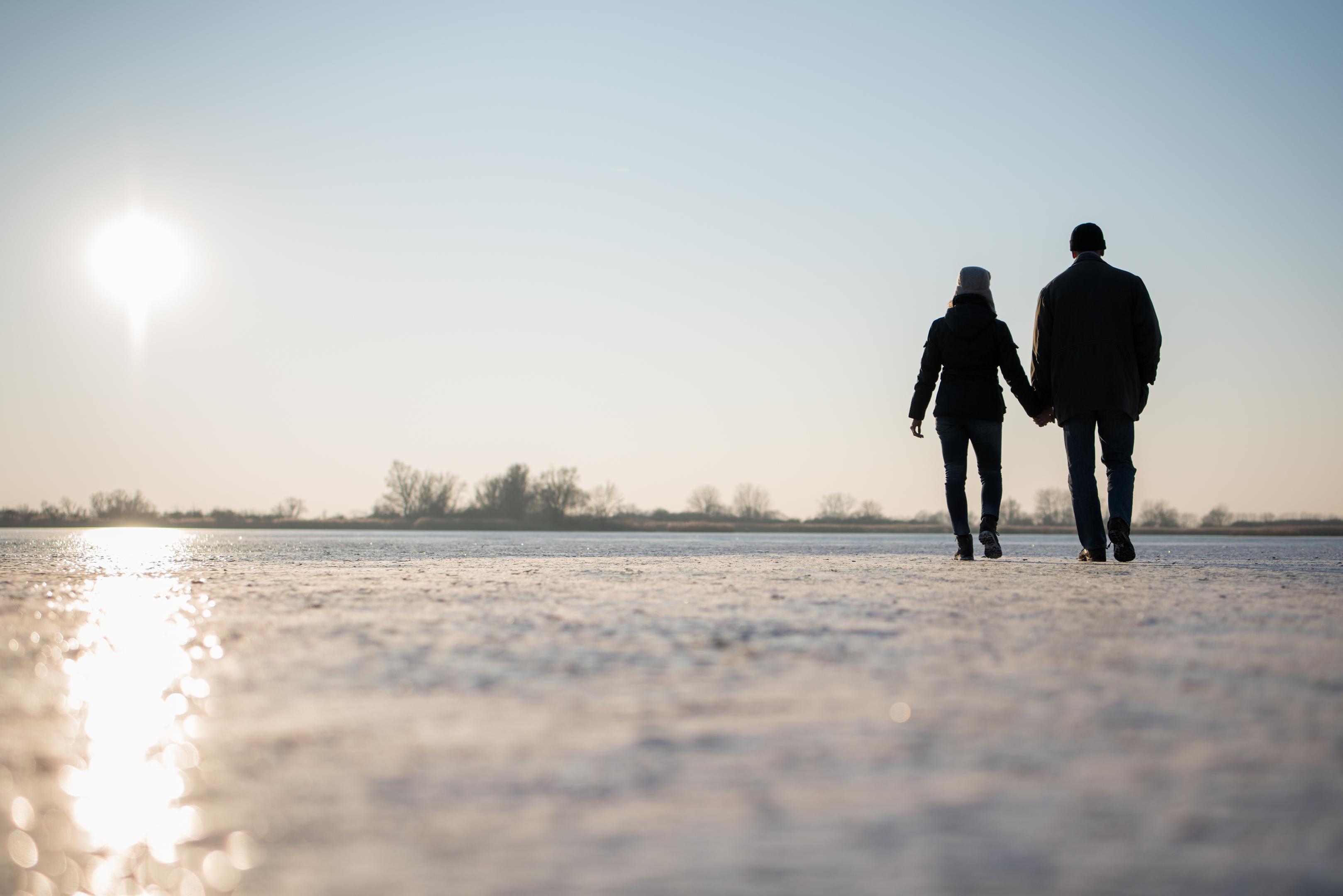 Storyteller Matt Hopwood has walked 500 miles in search of love stories (Getty Images/iStock)
