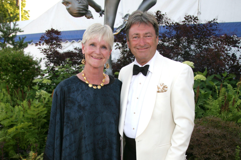 Alan Titchmarsh and wife Alison (Geoffrey Swaine/REX/Shutterstock)