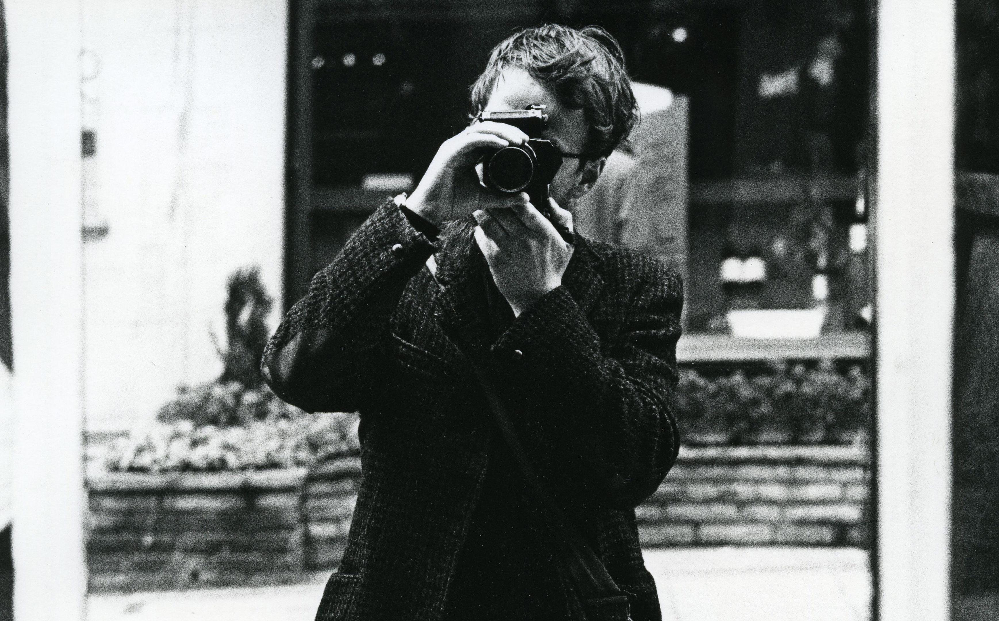 Robert Blomfield self-portrait (Robert Blomfield)
