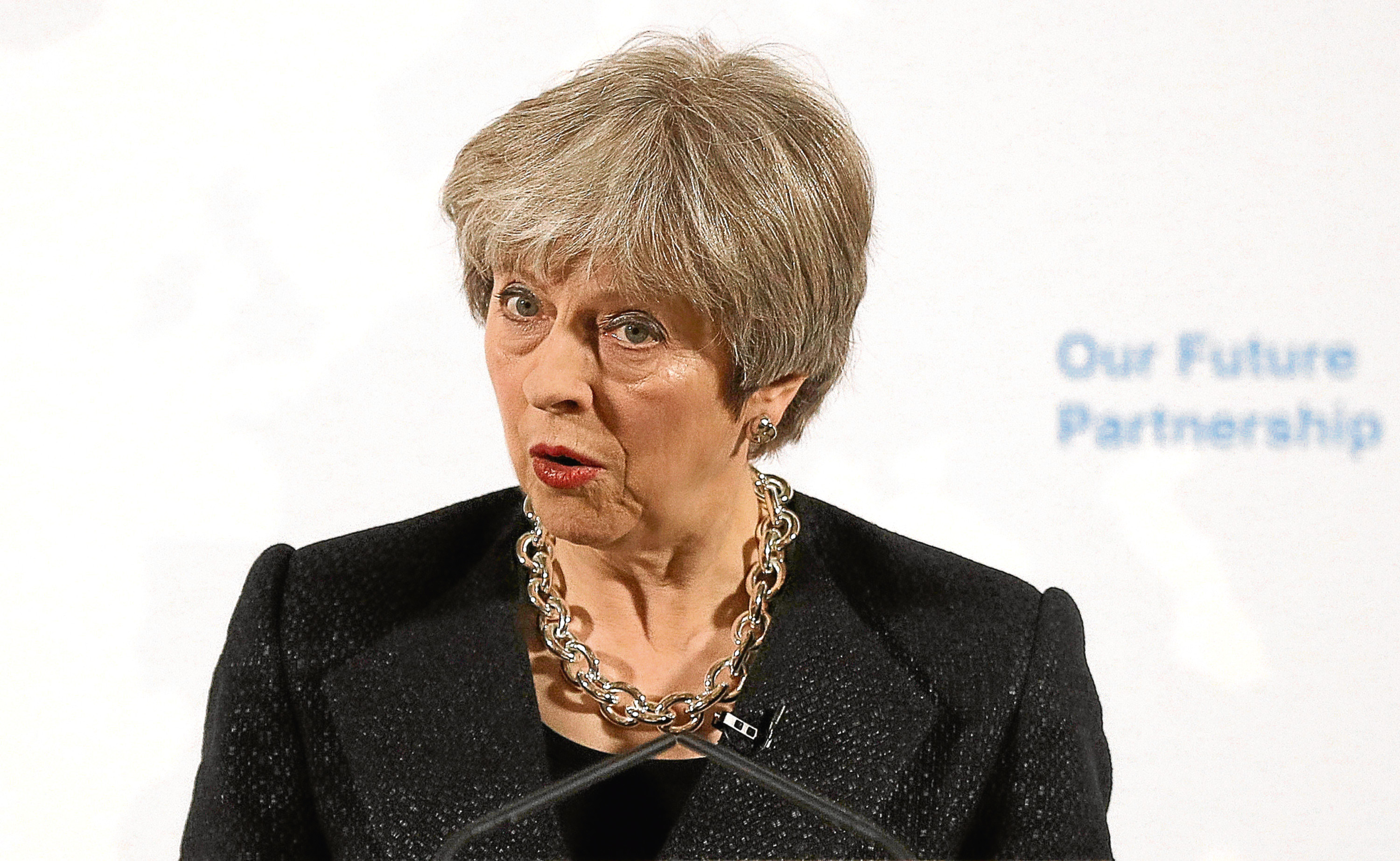 Theresa May (Peter Nicholls - WPA Pool / Getty Images)