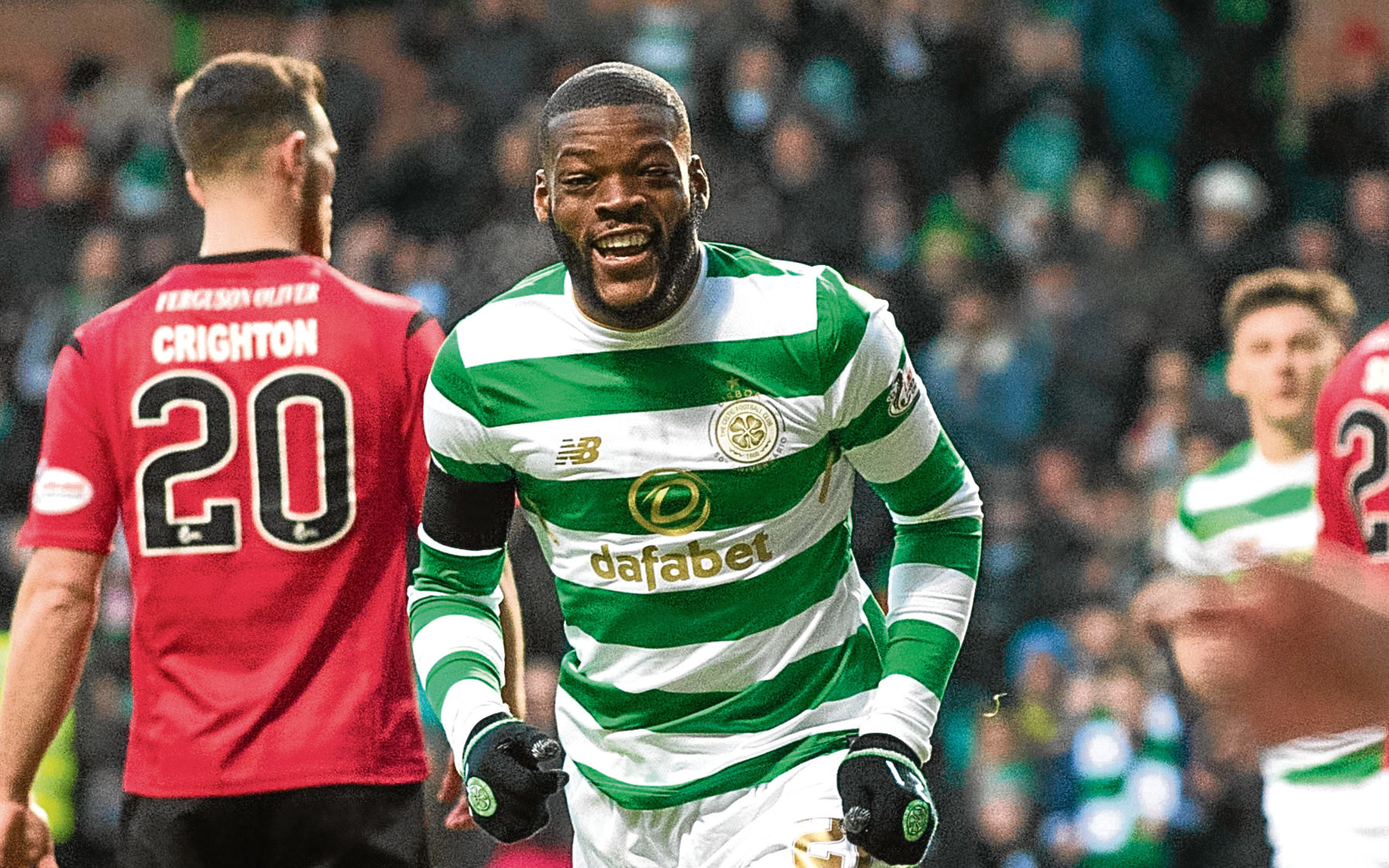 Celtic's Olivier Ntcham (SNS Group)