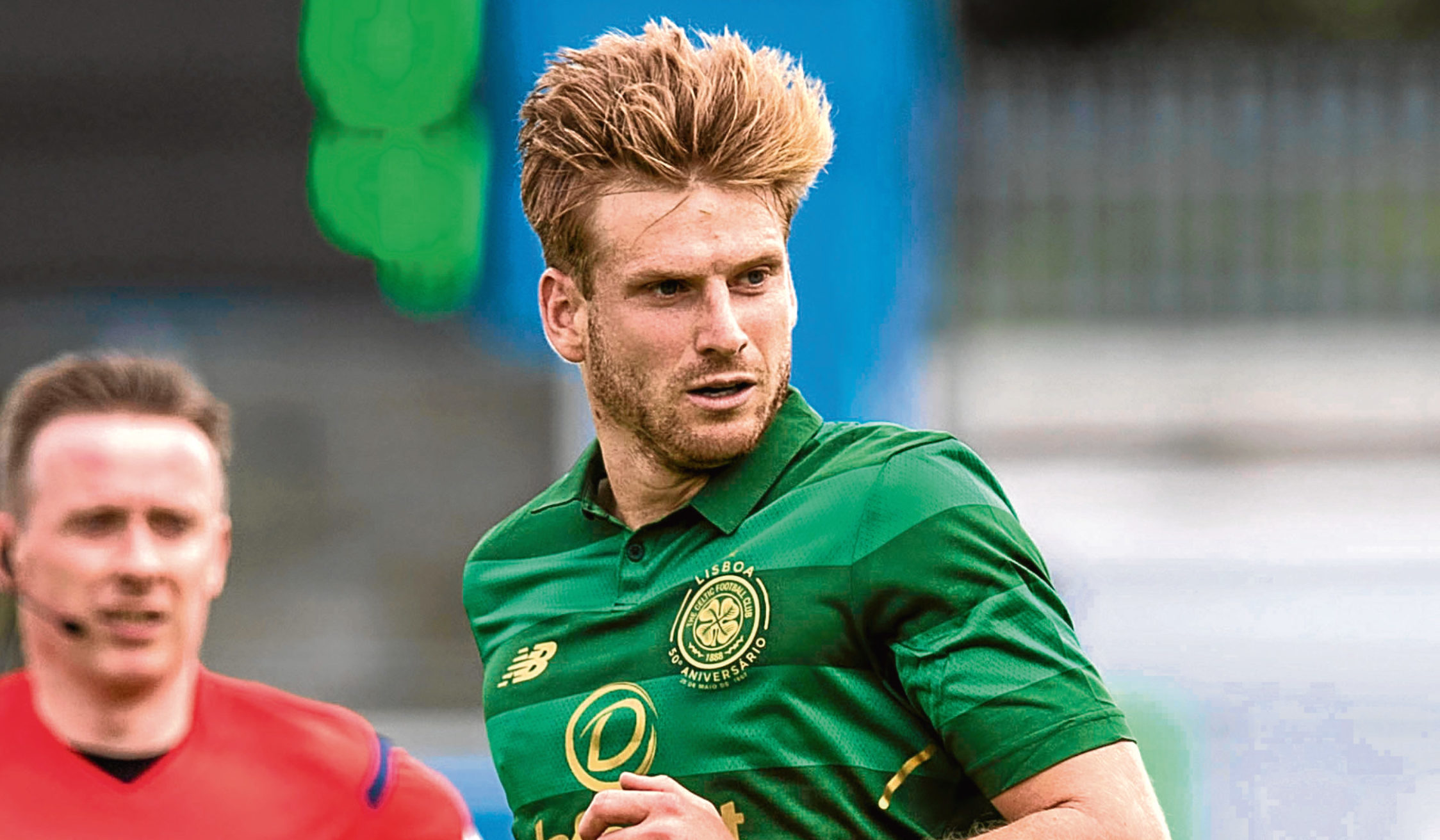 Stuart Armstrong in action for Celtic (SNS Group)