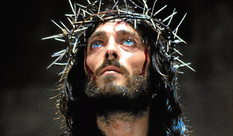 Robert Powell starring in Jesus of Nazareth, 1977 (Allstar)