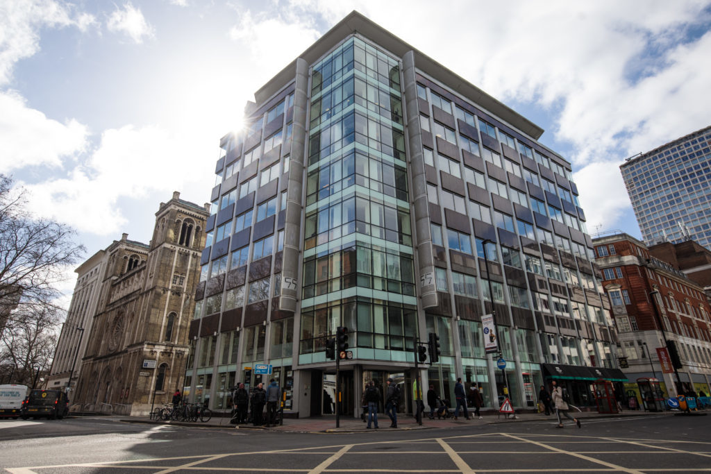 The London headquarters of Cambridge Analytica (Jack Taylor/Getty Images)