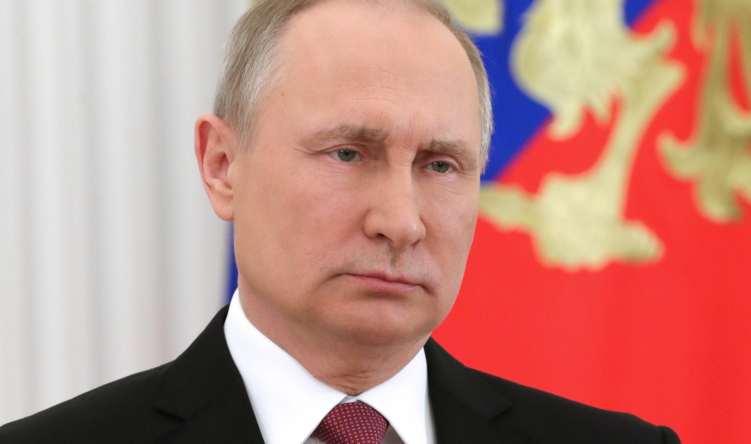 Russia's President Vladimir Putin (Mikhail KlimentyevTASS via Getty Images)