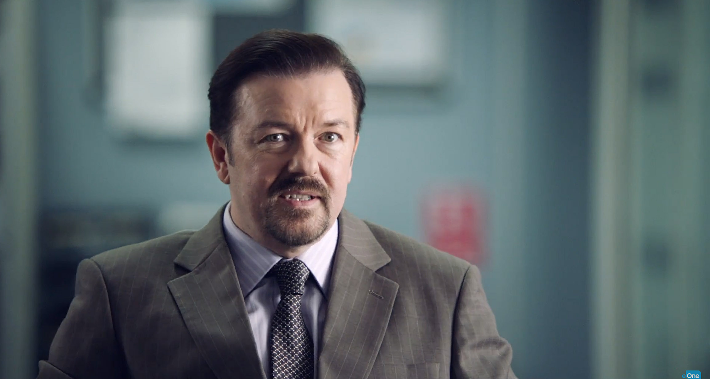 Ricky Gervais as David Brent (One UK/PA Wire)