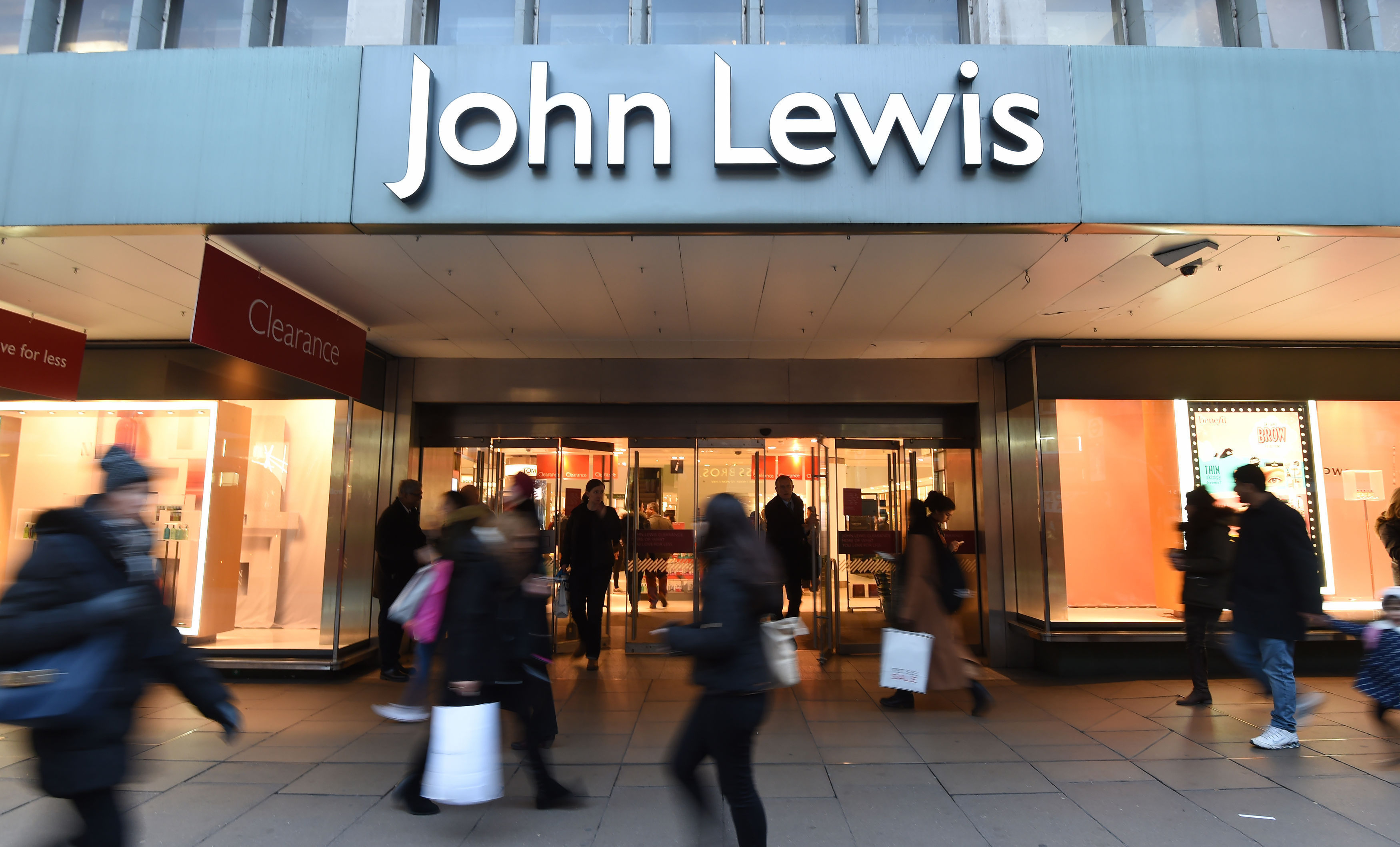 John Lewis has been named the best retailer in the UK to work for. (Charlotte Ball/PA Wire)