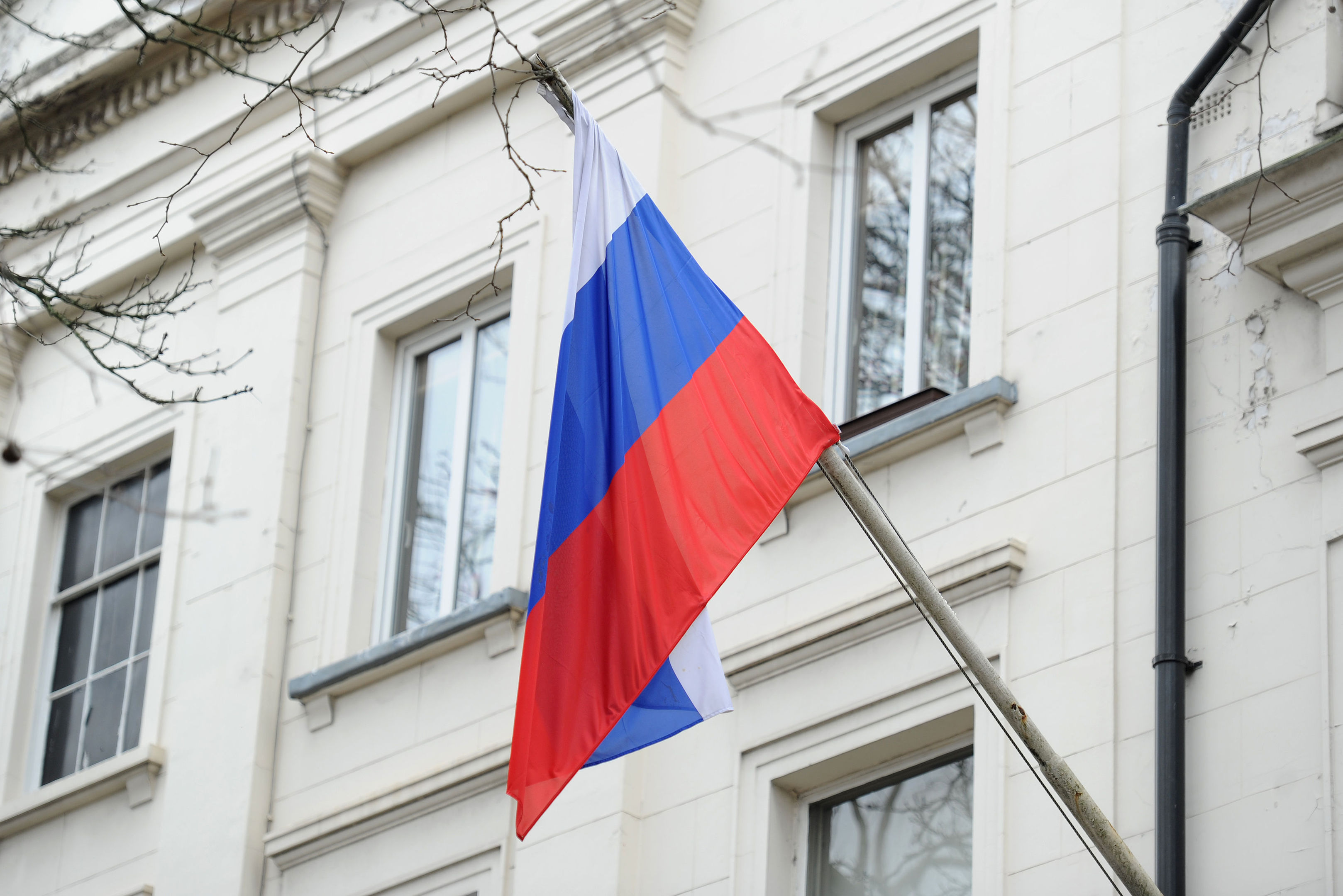 The Russian Embassy in London (Kirsty O'Connor/PA Wire)