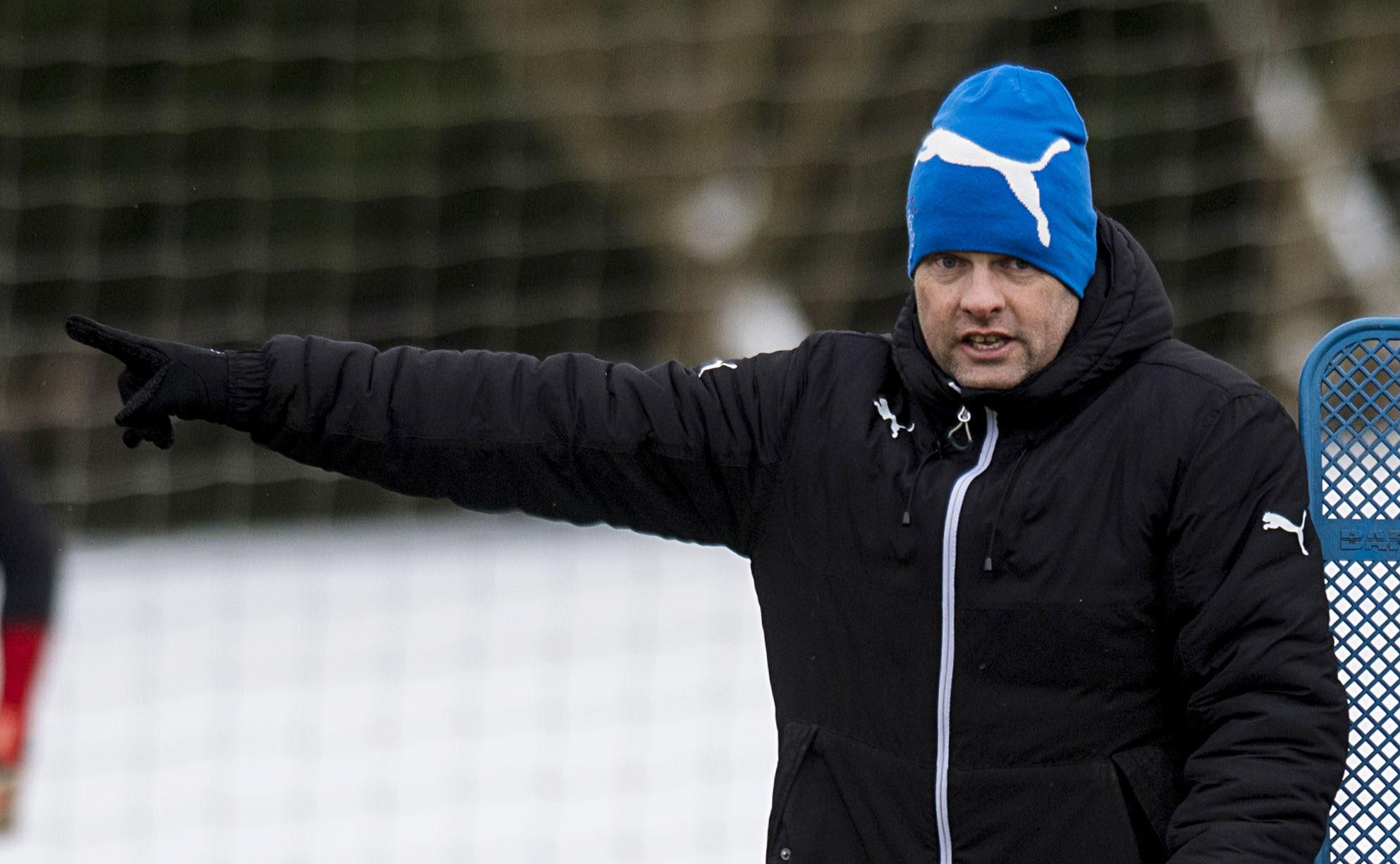 Rangers manager Graeme Murty (SNS Group / Craig Williamson)