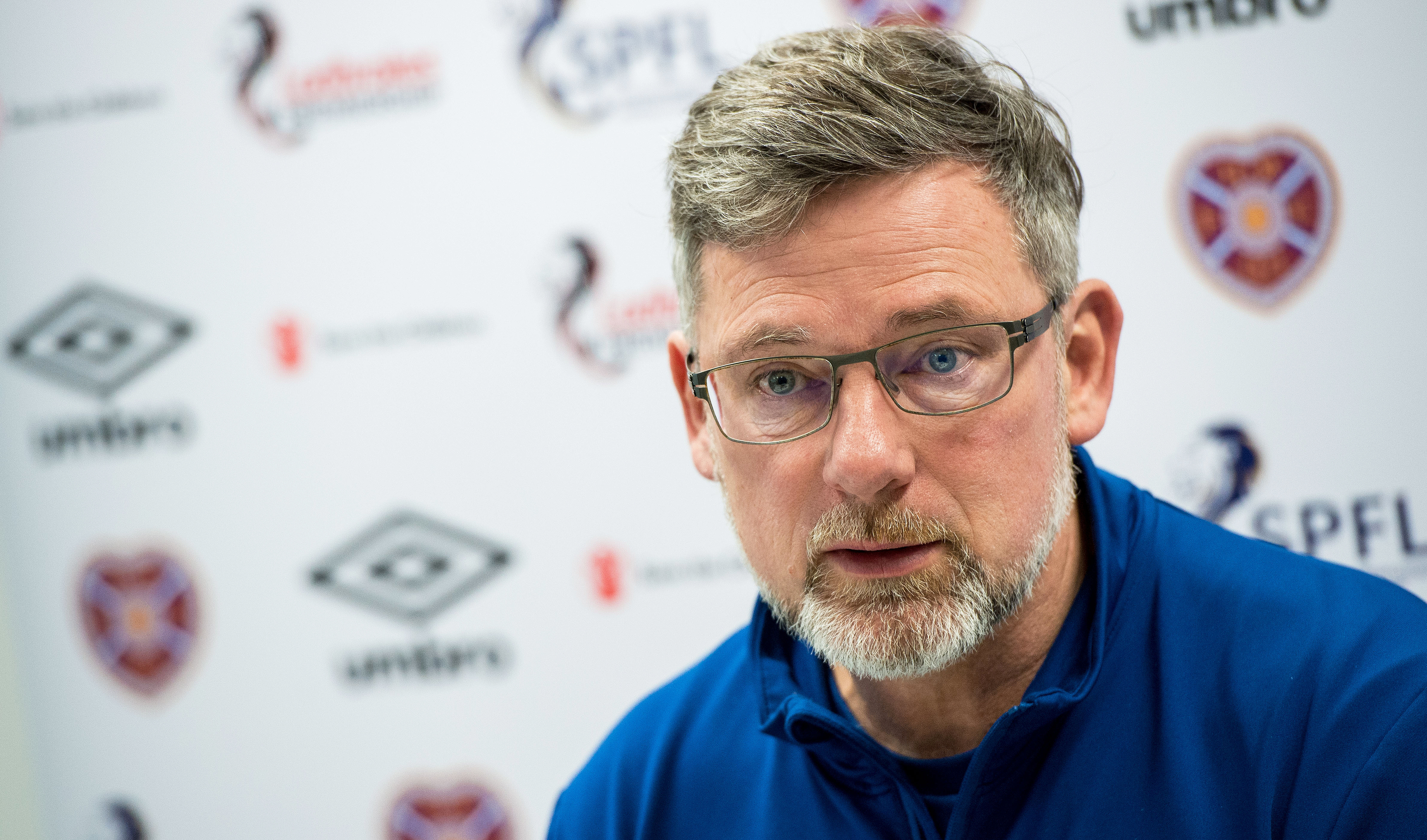 Hearts Manager Craig Levein (SNS Group / Ross Parker)