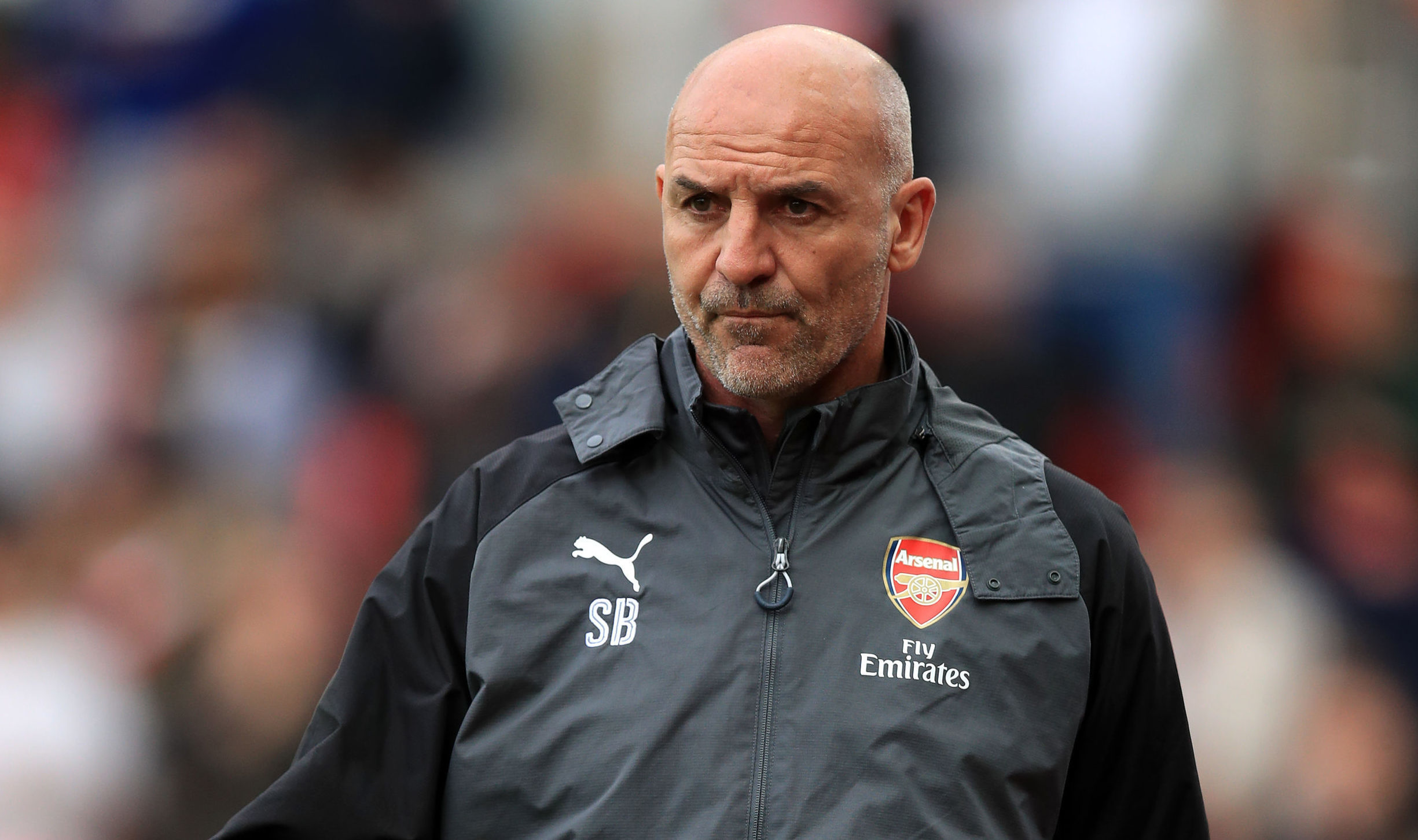 Arsenal Assistant manager Steve Bould (Mike Egerton/PA Wire)