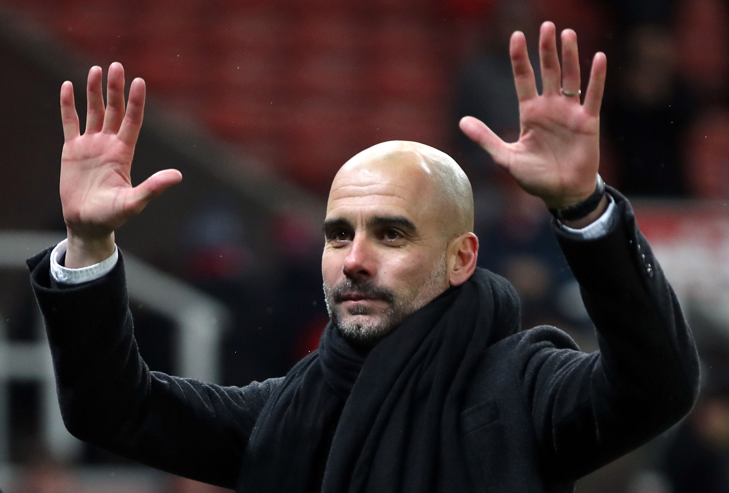 Manchester City manager Pep Guardiola (Nick Potts/PA Wire)