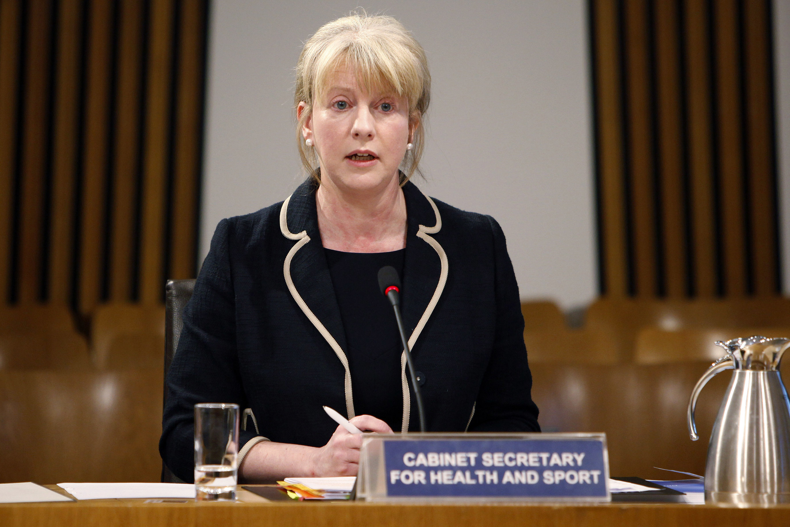 Shona Robison, Cabinet Secretary for Health and Sport (Andrew Cowan/Scottish Parliament)