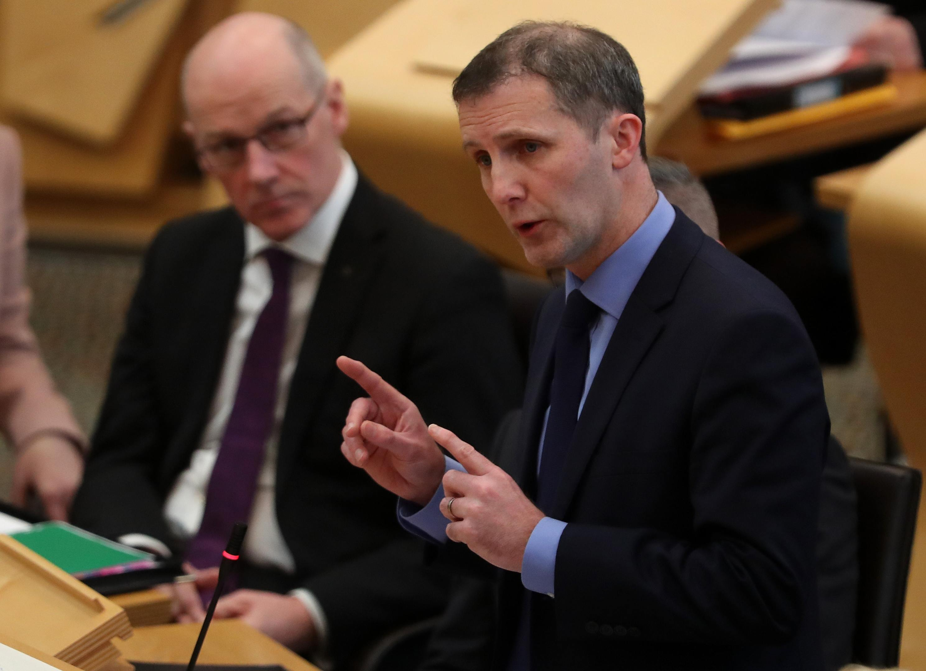 Justice Secretary Michael Matheson welcomed the new appointments (Andrew Milligan/PA)