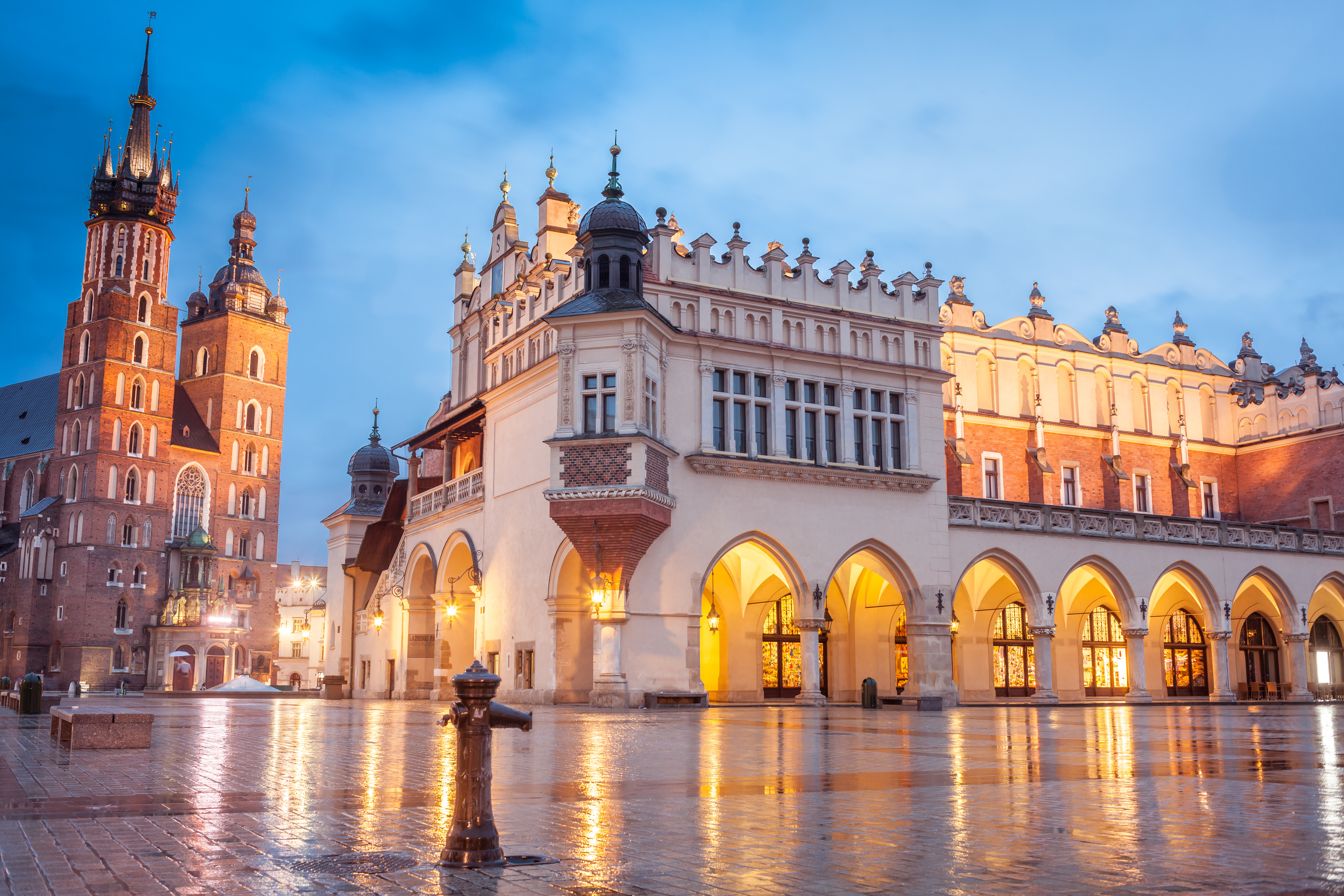 Center of Krakow (Getty Images/iStock)