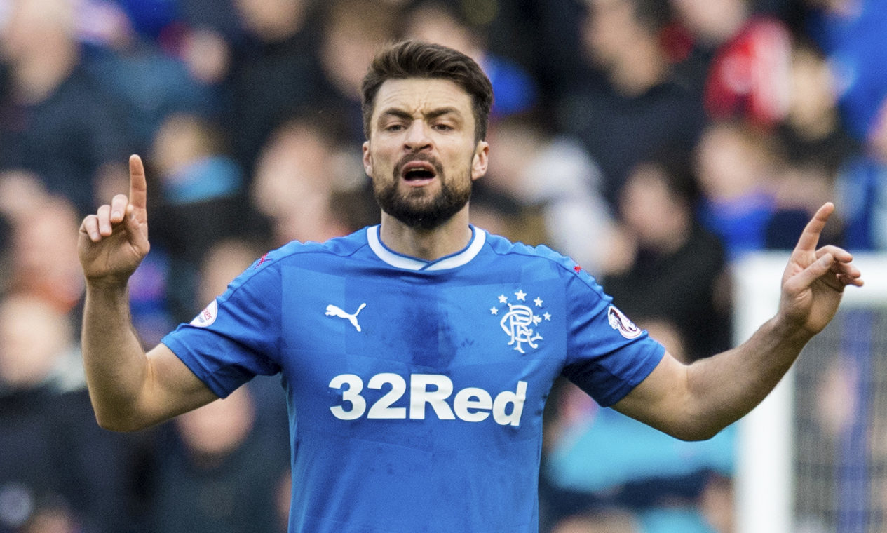 Russell Martin in action for Rangers (SNS Group)