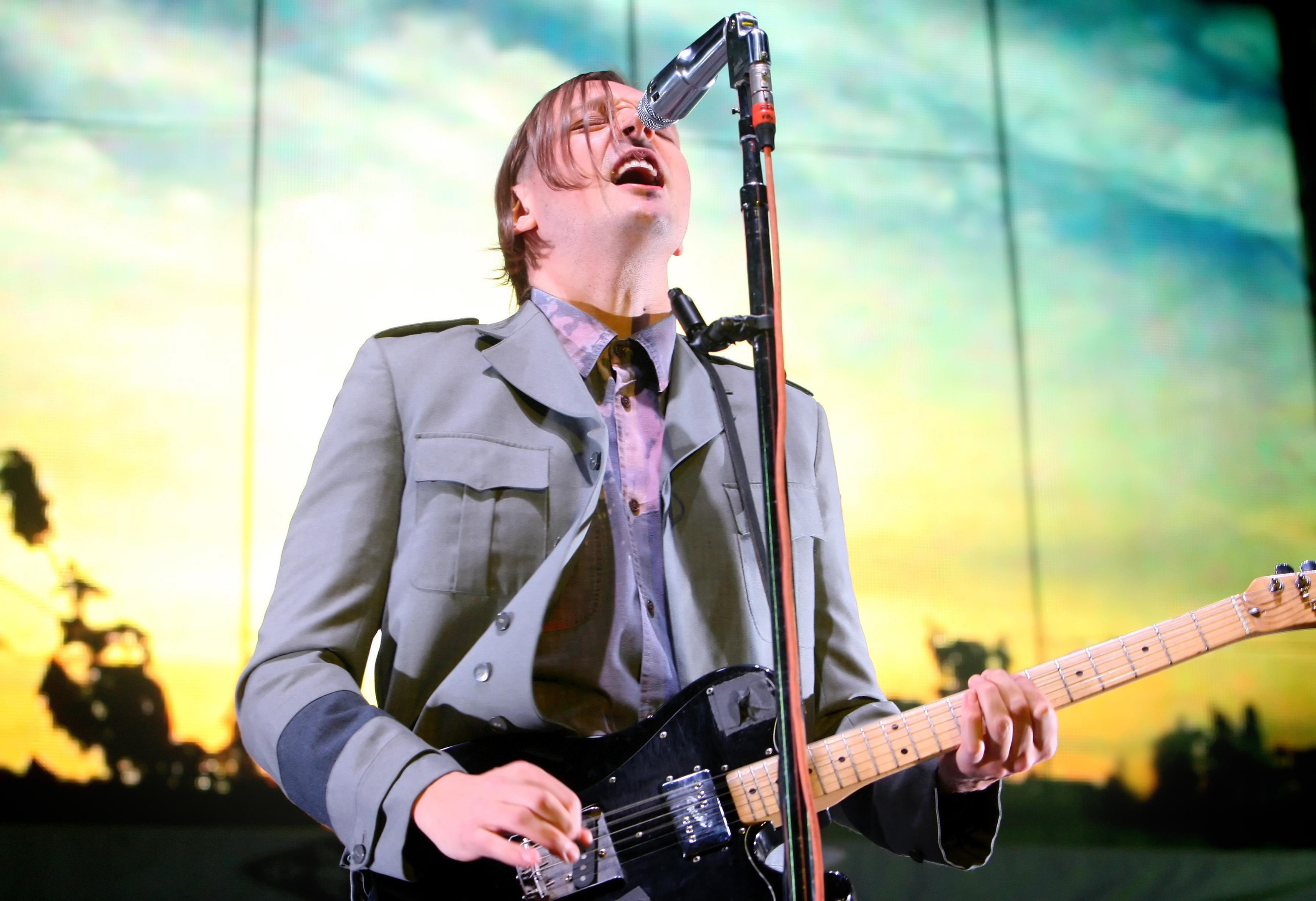 Win Butler of Arcade Fire (Dominic Lipinski/PA Wire)