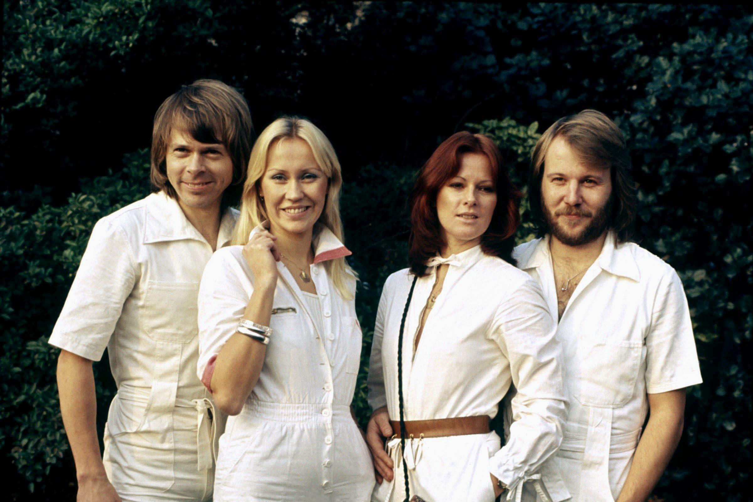ABBA in 1977 (Allstar)