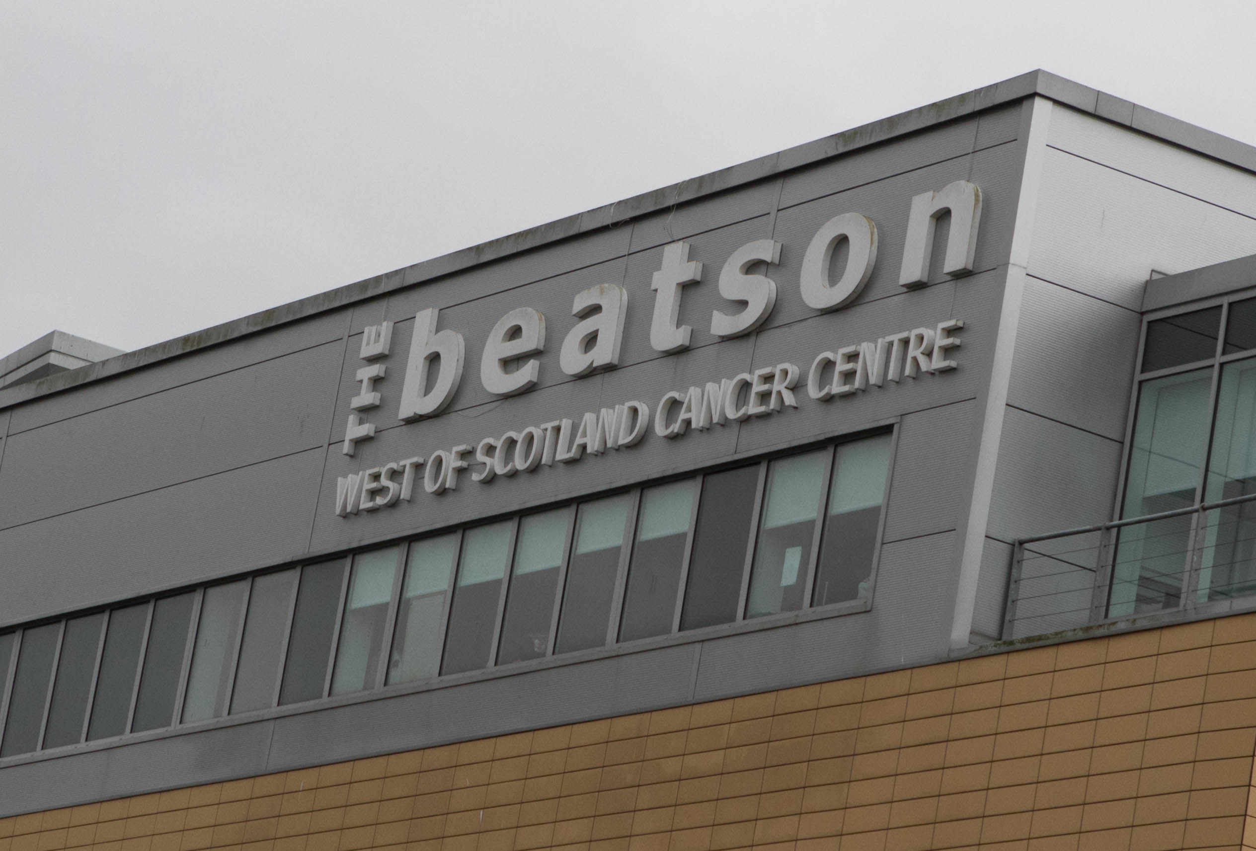 The Beatson Cancer Centre in Glasgow.
