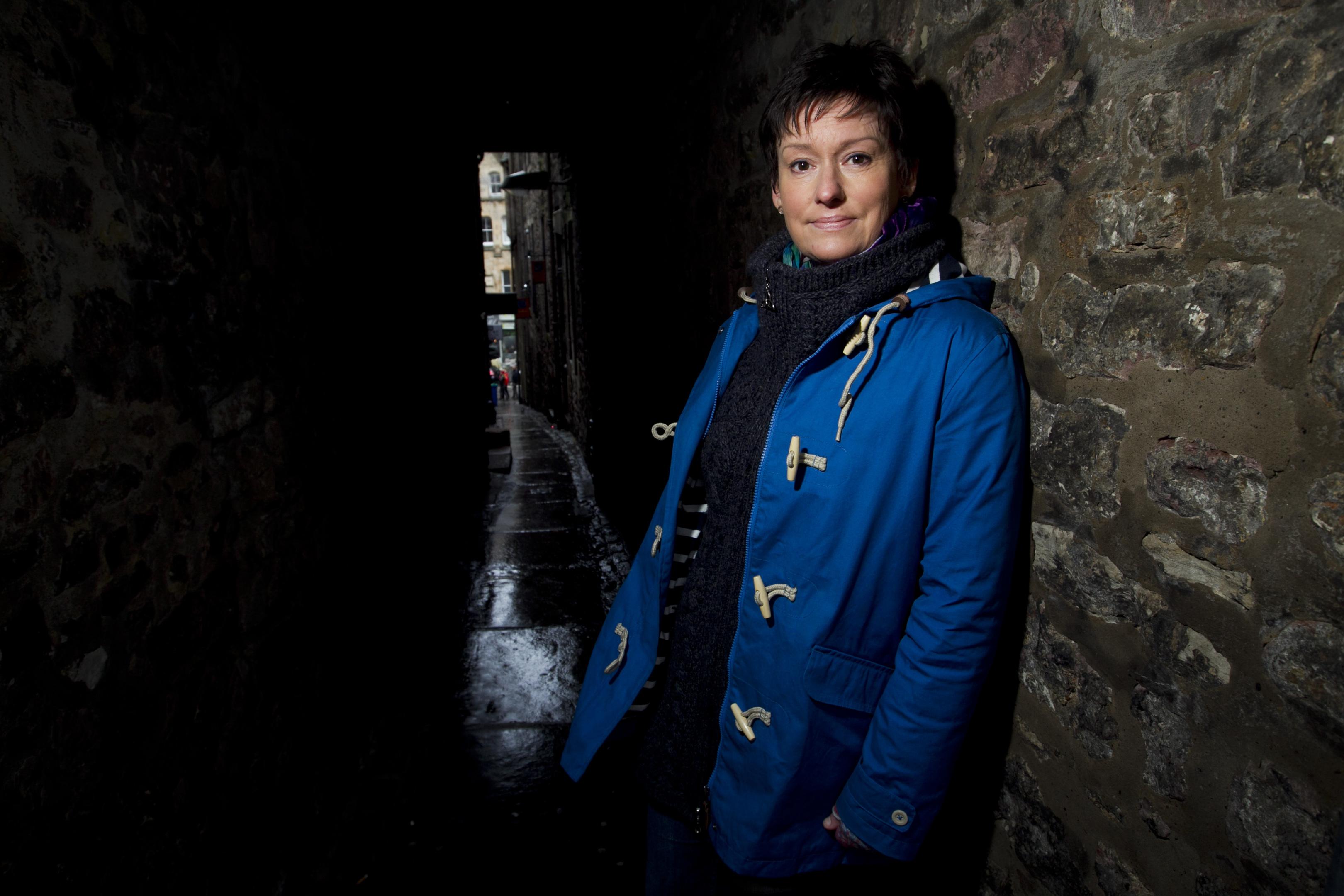 Gothic Thriller author, Elaine Thomson (Andrew Cawley/Dc Thomson)