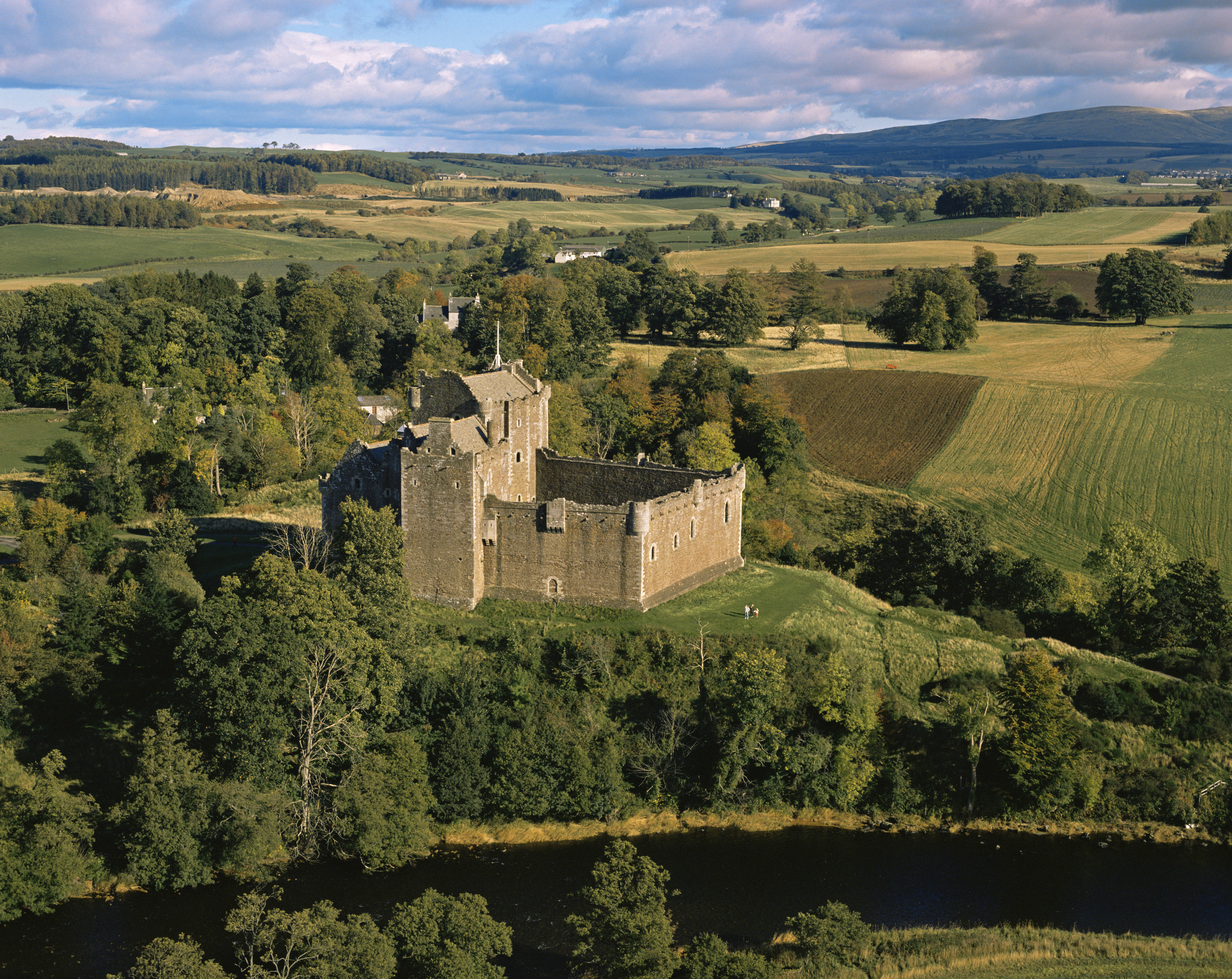 Doune Castle, as featured in Outlander (VisitScotland)