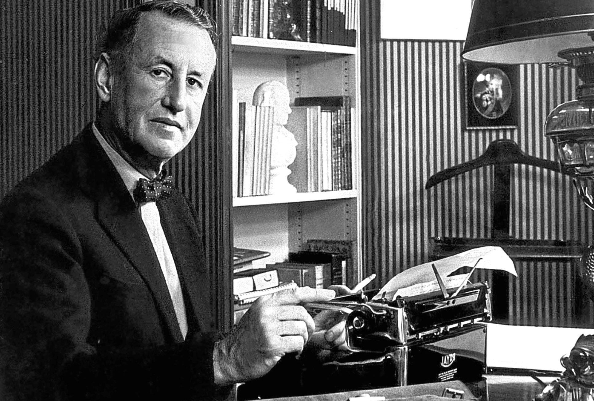 James Bond author Ian Fleming, 1958