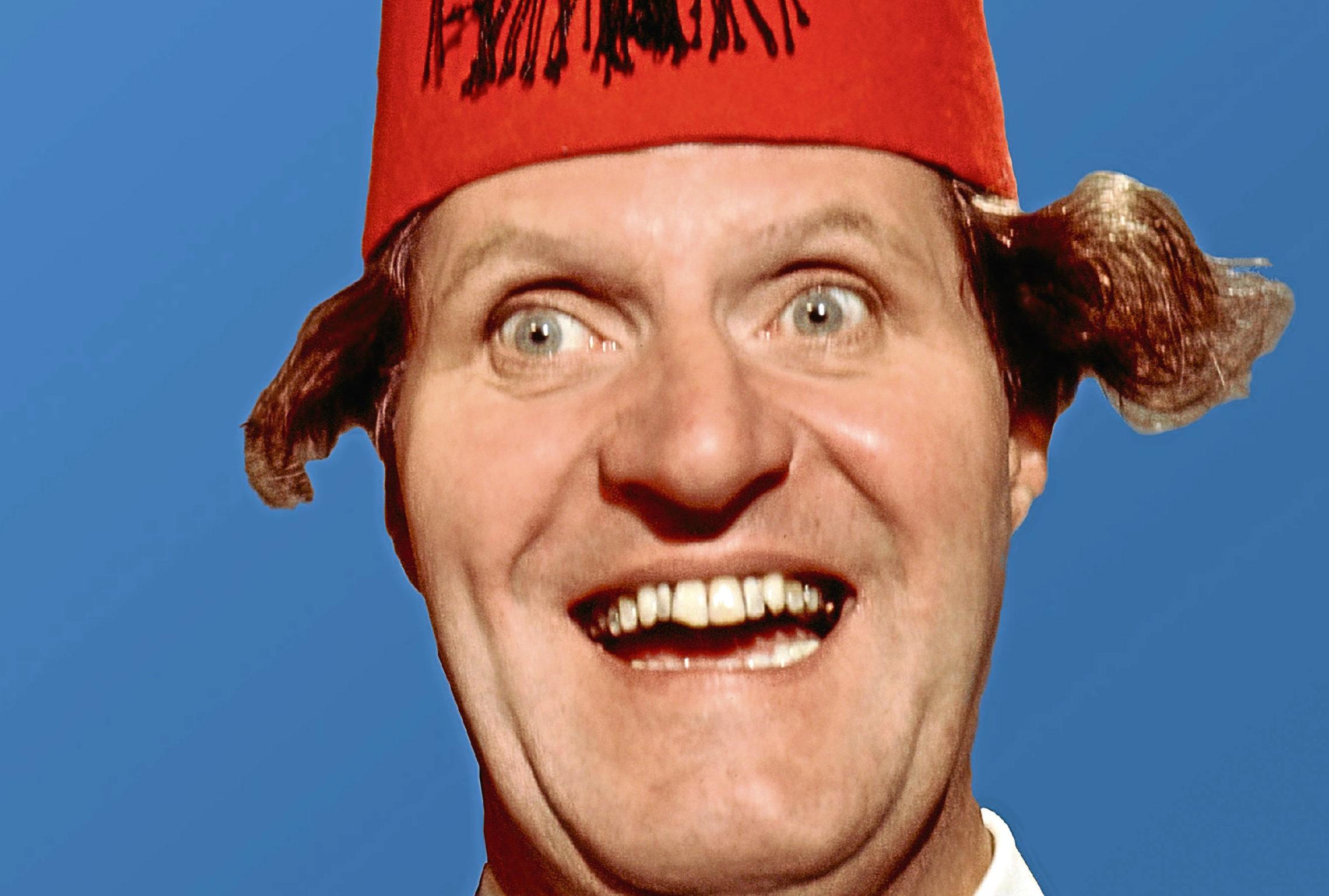 Comedian Tommy Cooper