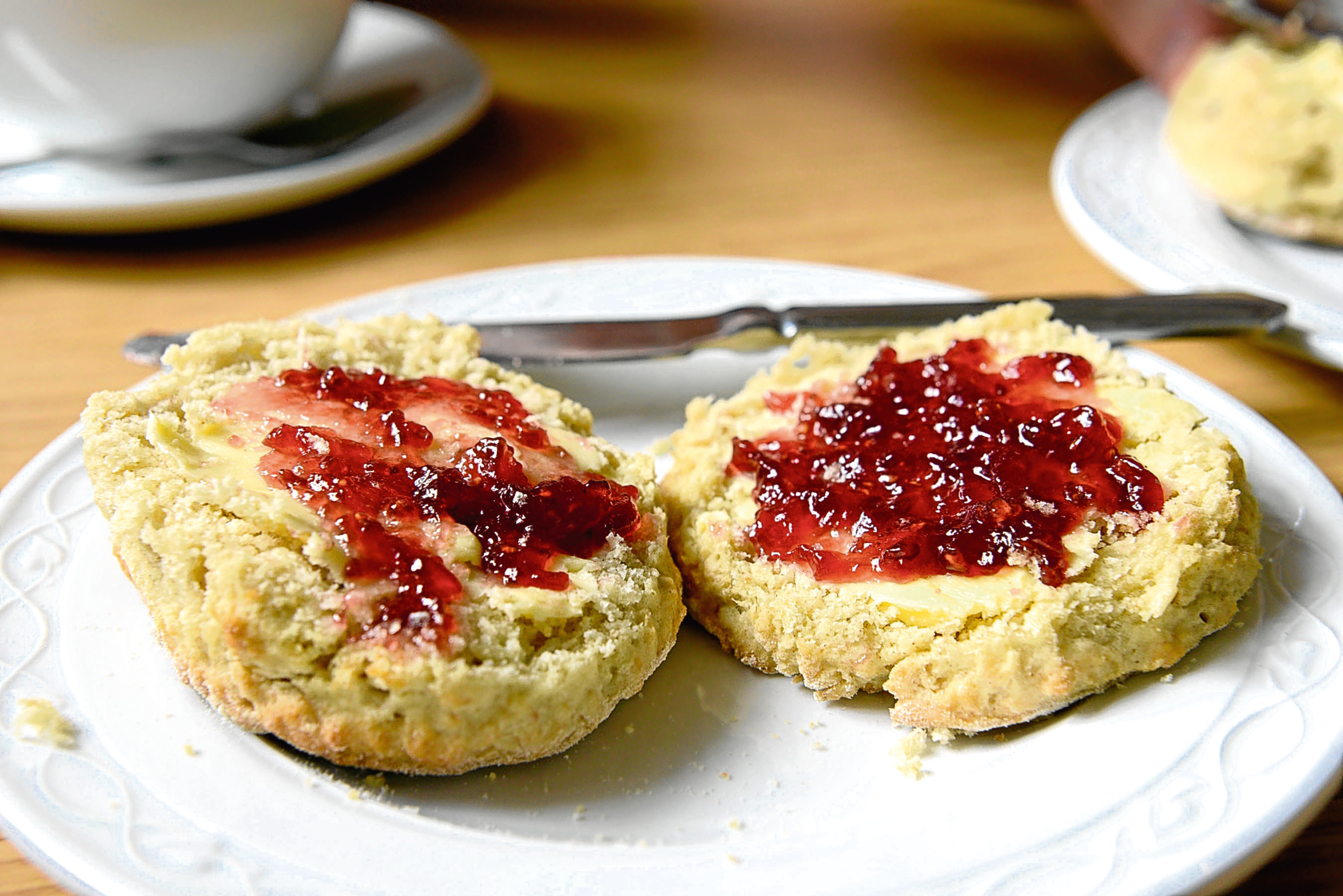 A delicious scone (Iain Ferguson / The Write Image)