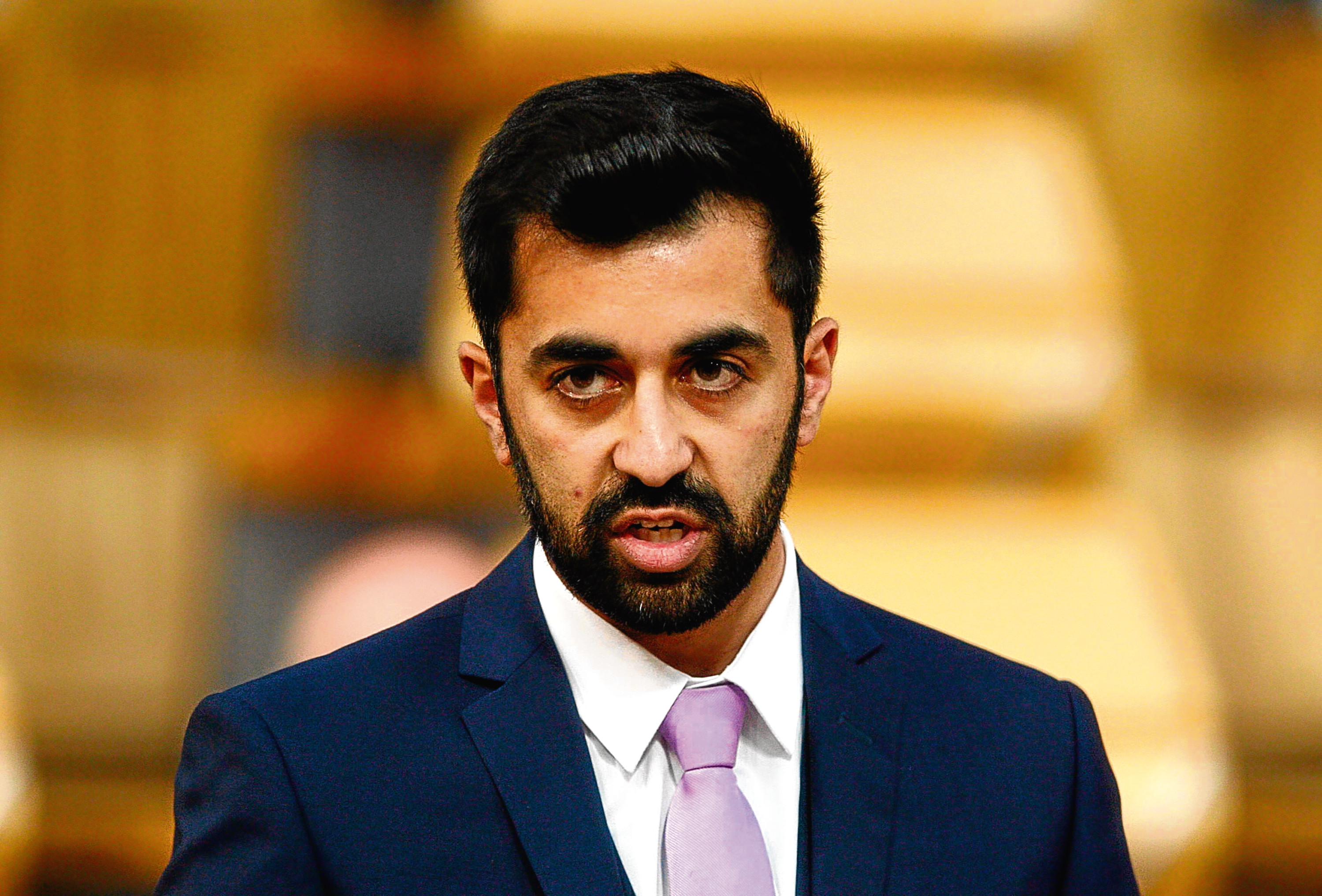 Humza Yousaf MSP, Minister for Transport and the Islands (Andrew Cowan/Scottish Parliament)