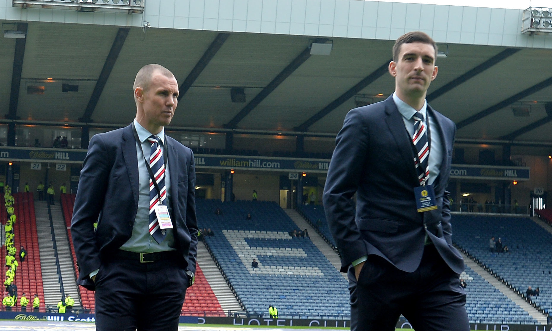 Kenny Miller and Lee Wallace (Mark Runnacles/Getty Images)