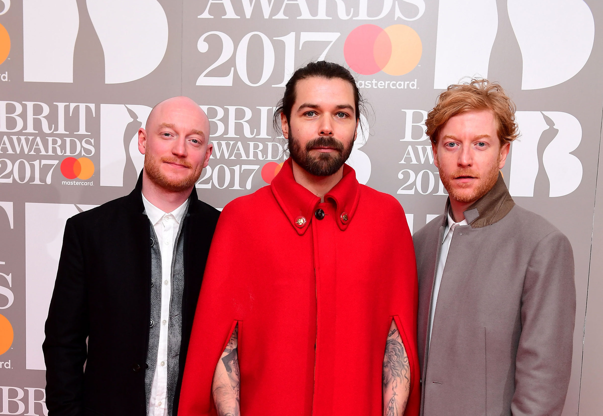 Biffy Clyro's Simon Neil, James Johnston and Ben Johnston (Ian West/PA)