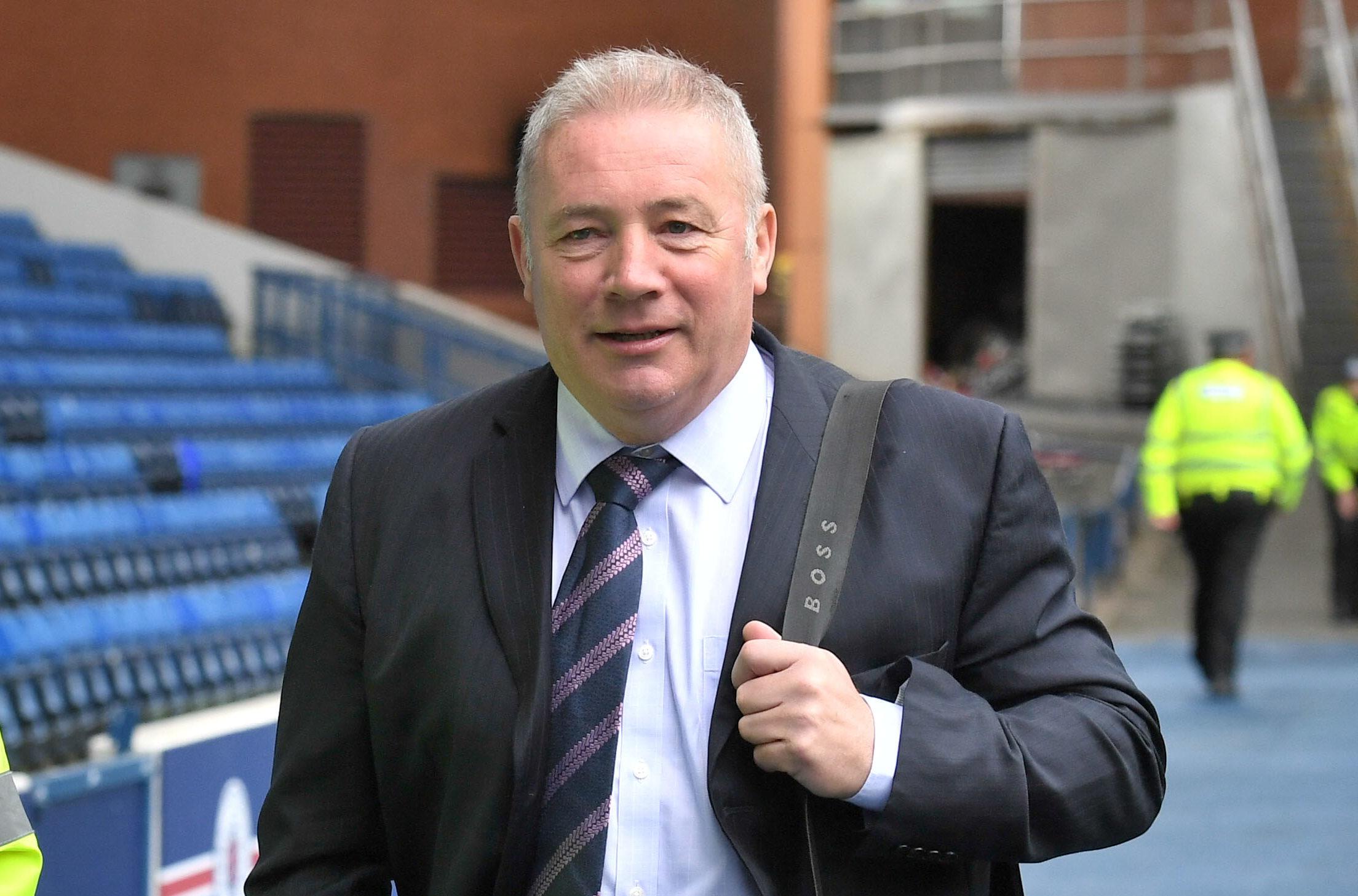 Former Rangers manager Ally McCoist (SNS Group / Alan Harvey)