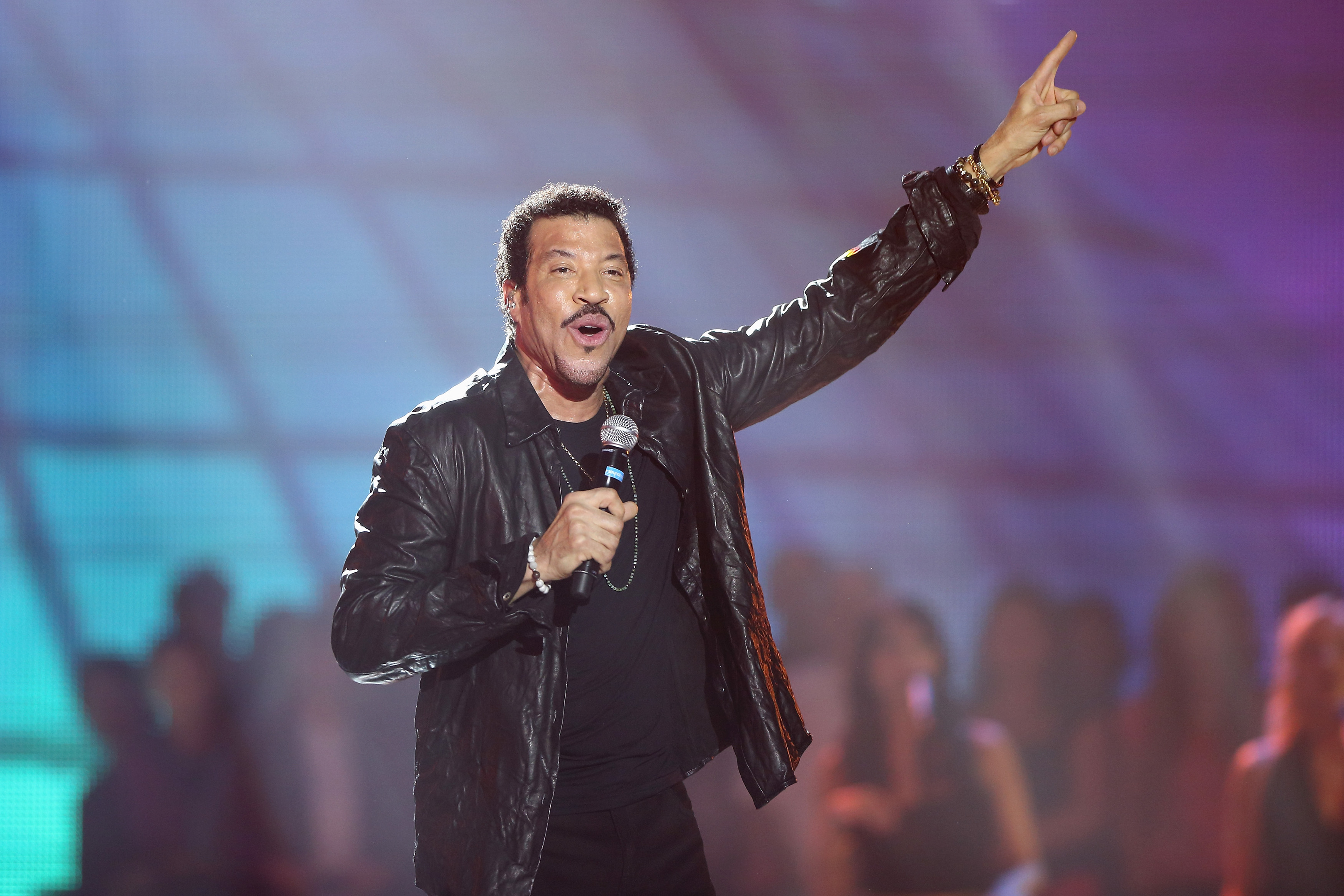 Lionel Richie on stage (Andreas Rentz/Getty Images)