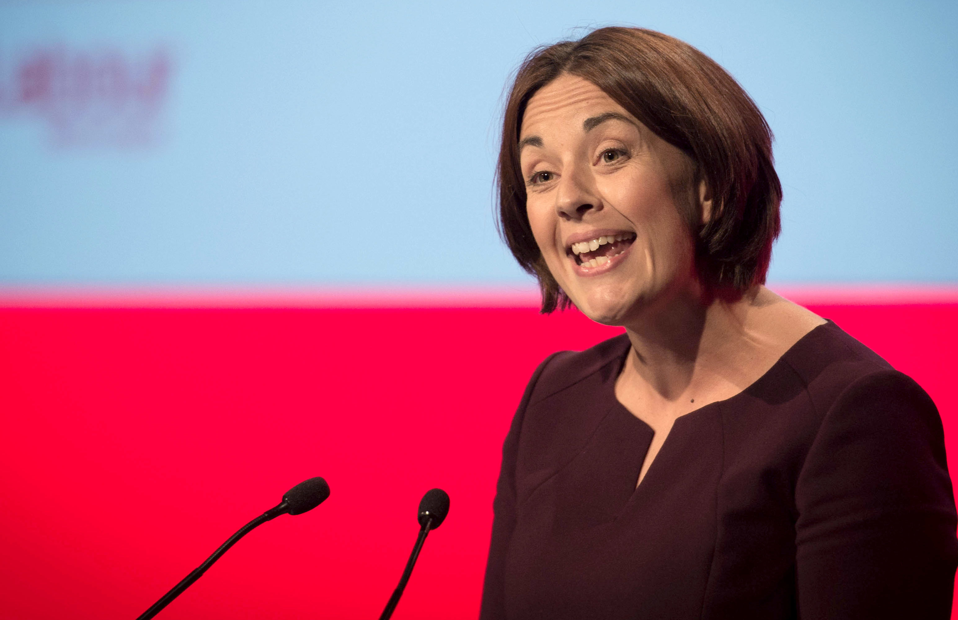 Scottish Labour's Kezia Dugdale (Stefan Rousseau - WPA Pool/Getty Images)