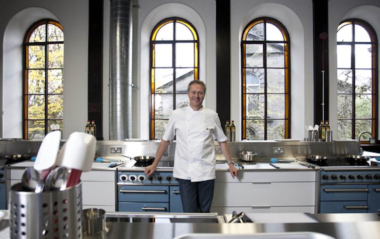 Nick Nairn in his Aberdeen Cook School (Ross Johnston / Newsline Scotland)