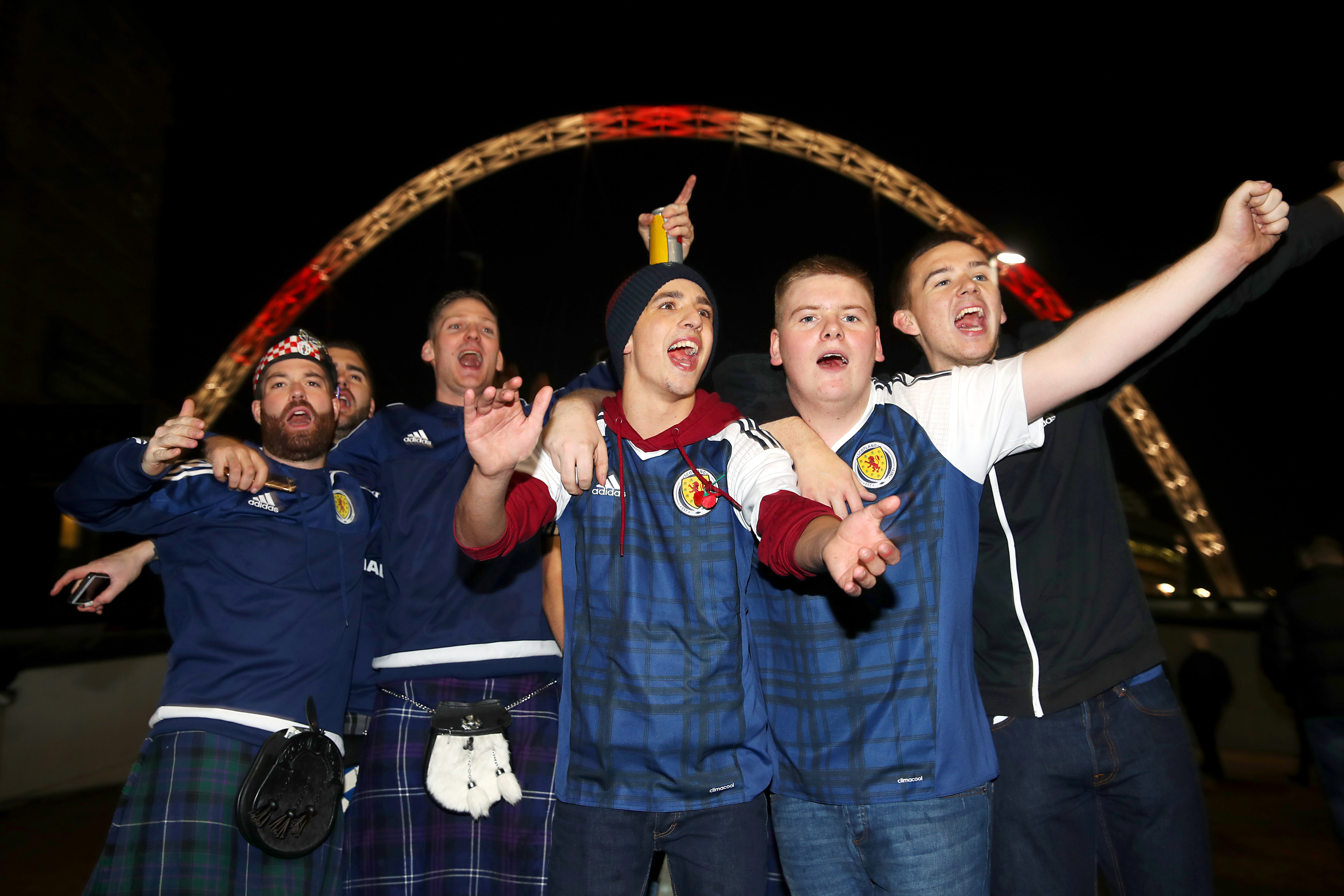 Wembley Stadium should only host major occasions, such as games against Scotland, says Alan (SNS Group)